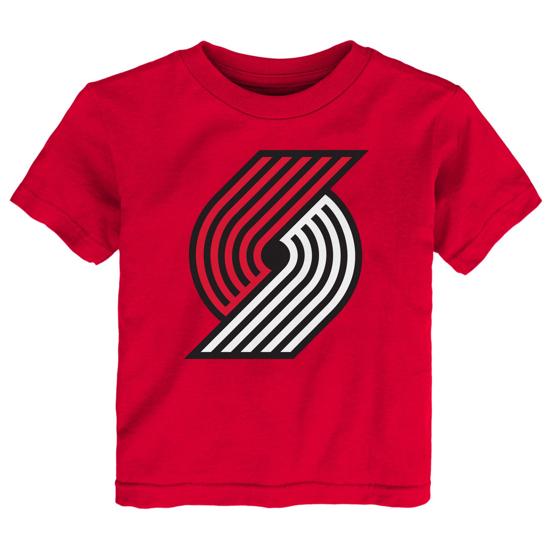 Camiseta con logotipo Portland Trail Blazers - Niñito