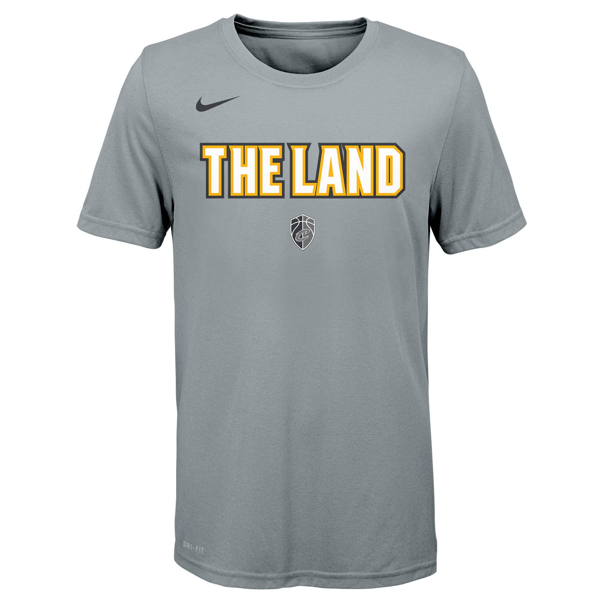 Camiseta Nike City Logo de los Cleveland Cavaliers para adolescentes