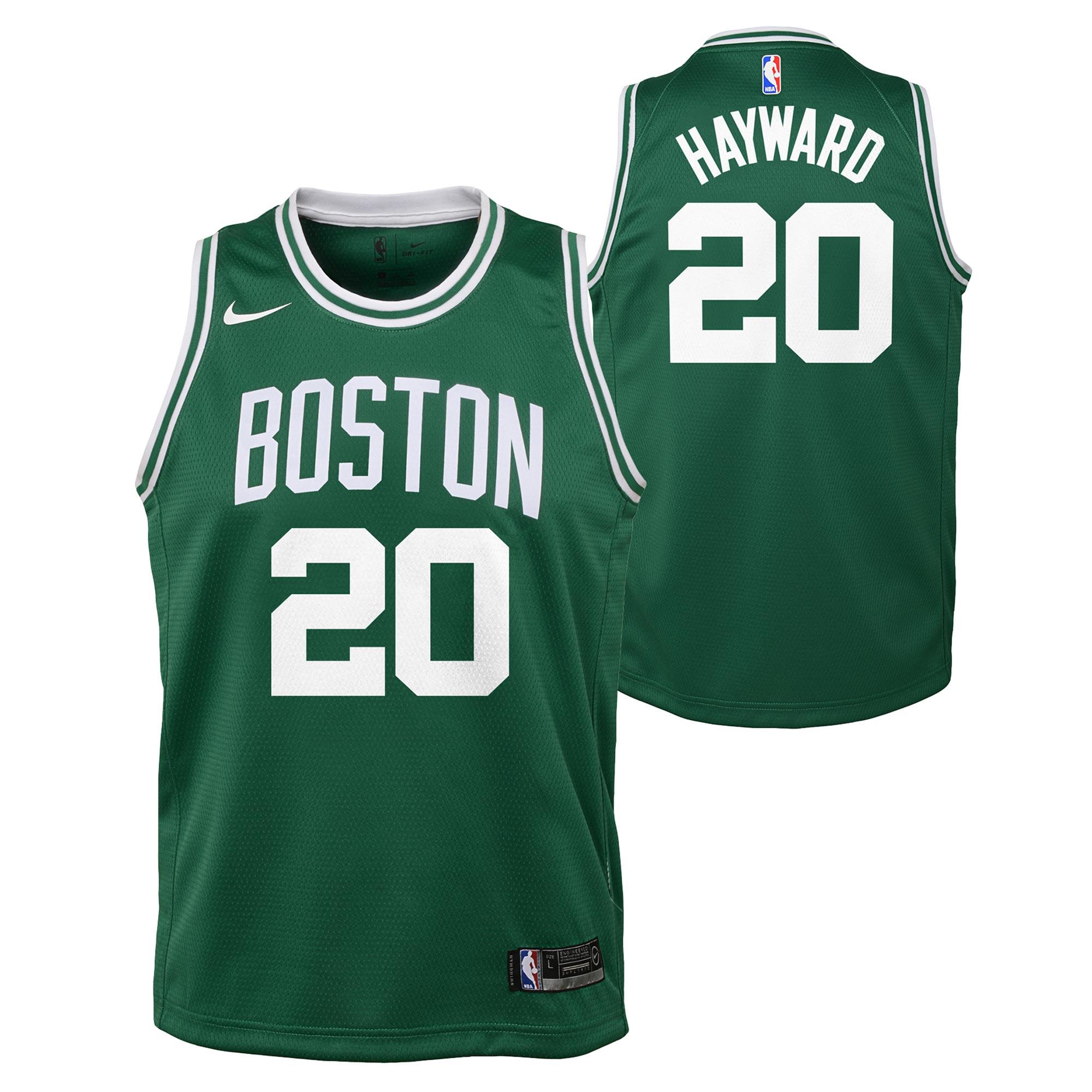 """Boston Celtics Nike Icon Swingman Jersey - Gordon Hayward - Youth"""