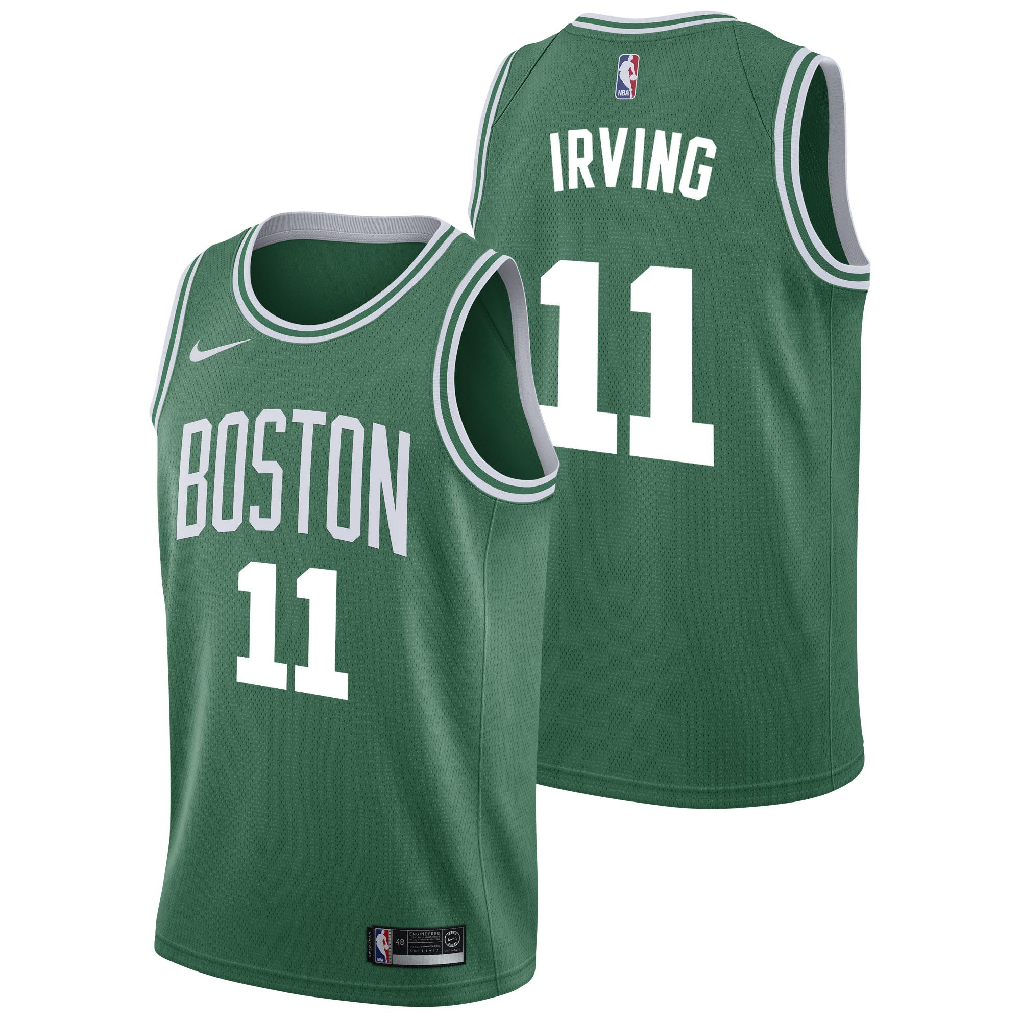 """Boston Celtics Nike Icon Swingman Jersey - Kyrie Irving - Mens"""