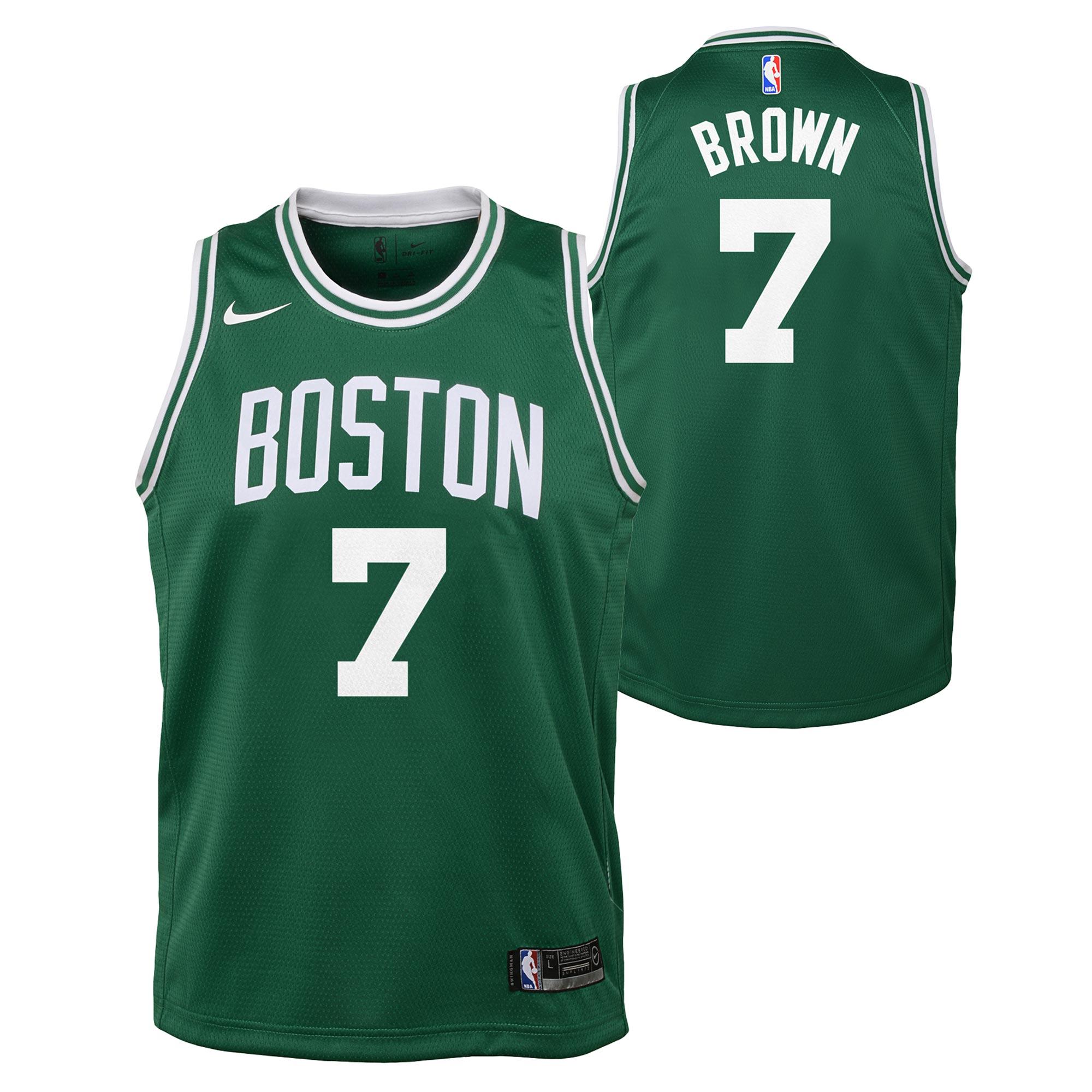 """""""Boston Celtics Nike Icon Swingman Jersey - Jaylen Brown - Youth"""""""