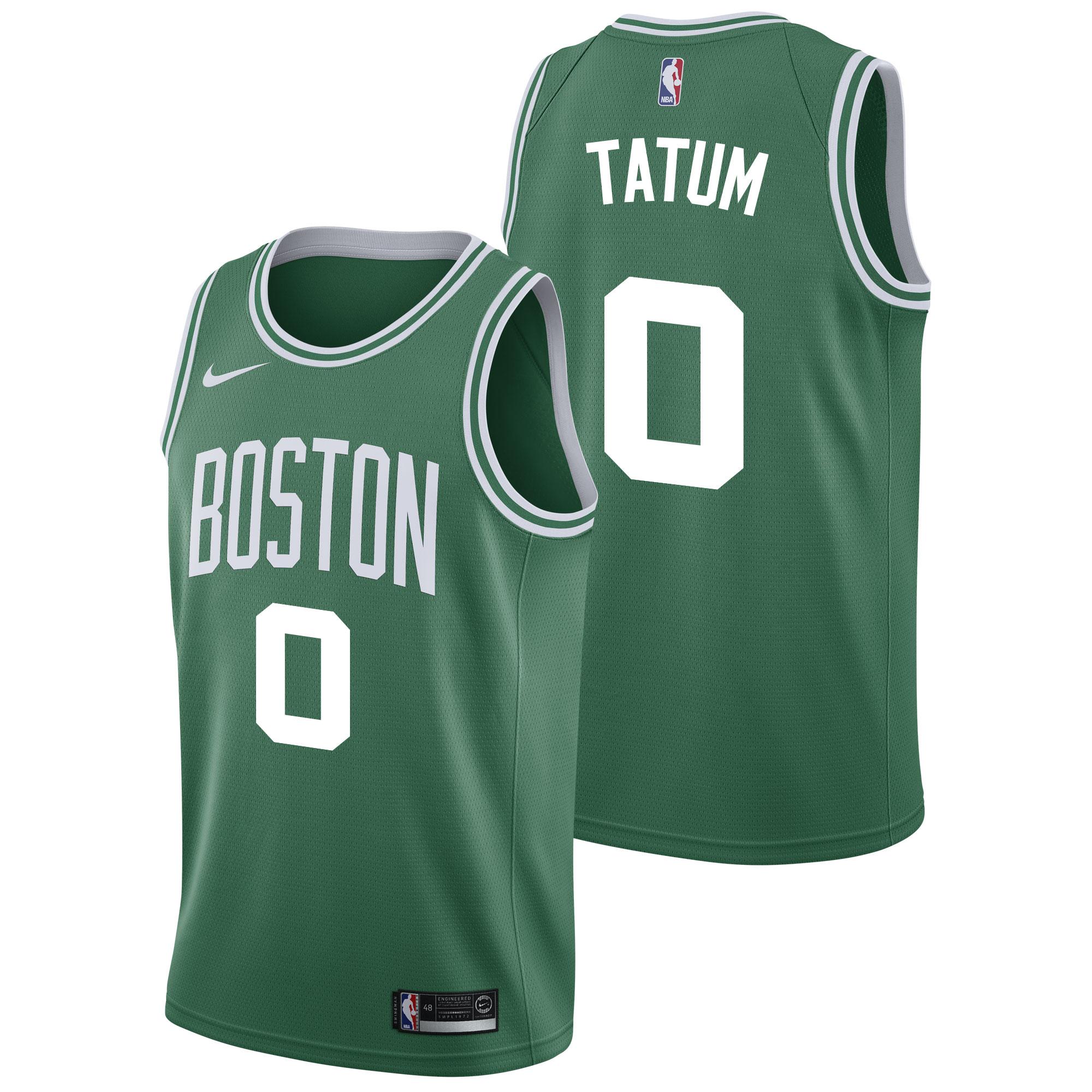 """Boston Celtics Nike Icon Swingman Jersey - Jayson Tatum - Mens"""