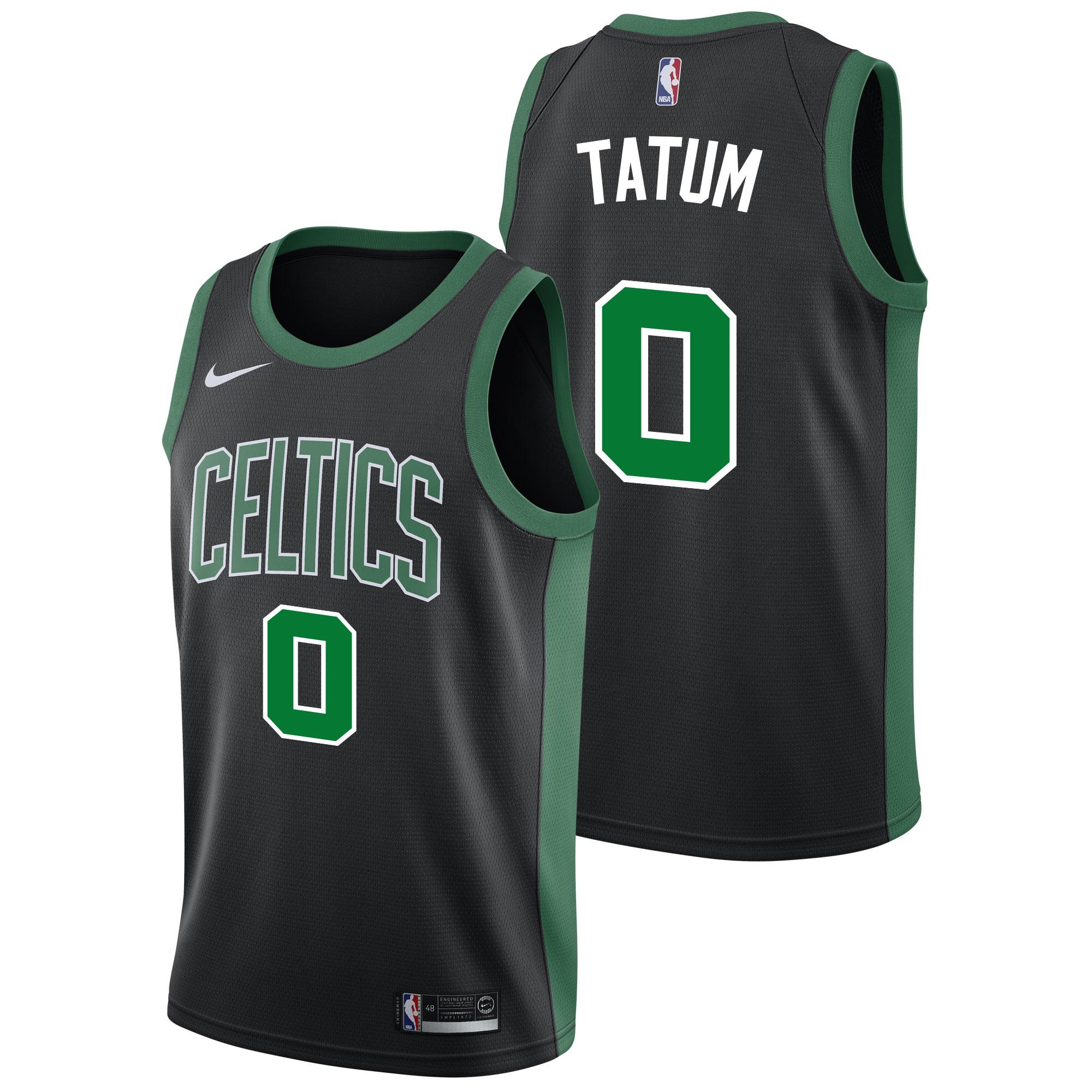 """Boston Celtics Nike Statement Swingman Jersey - Jayson Tatum - Mens"""