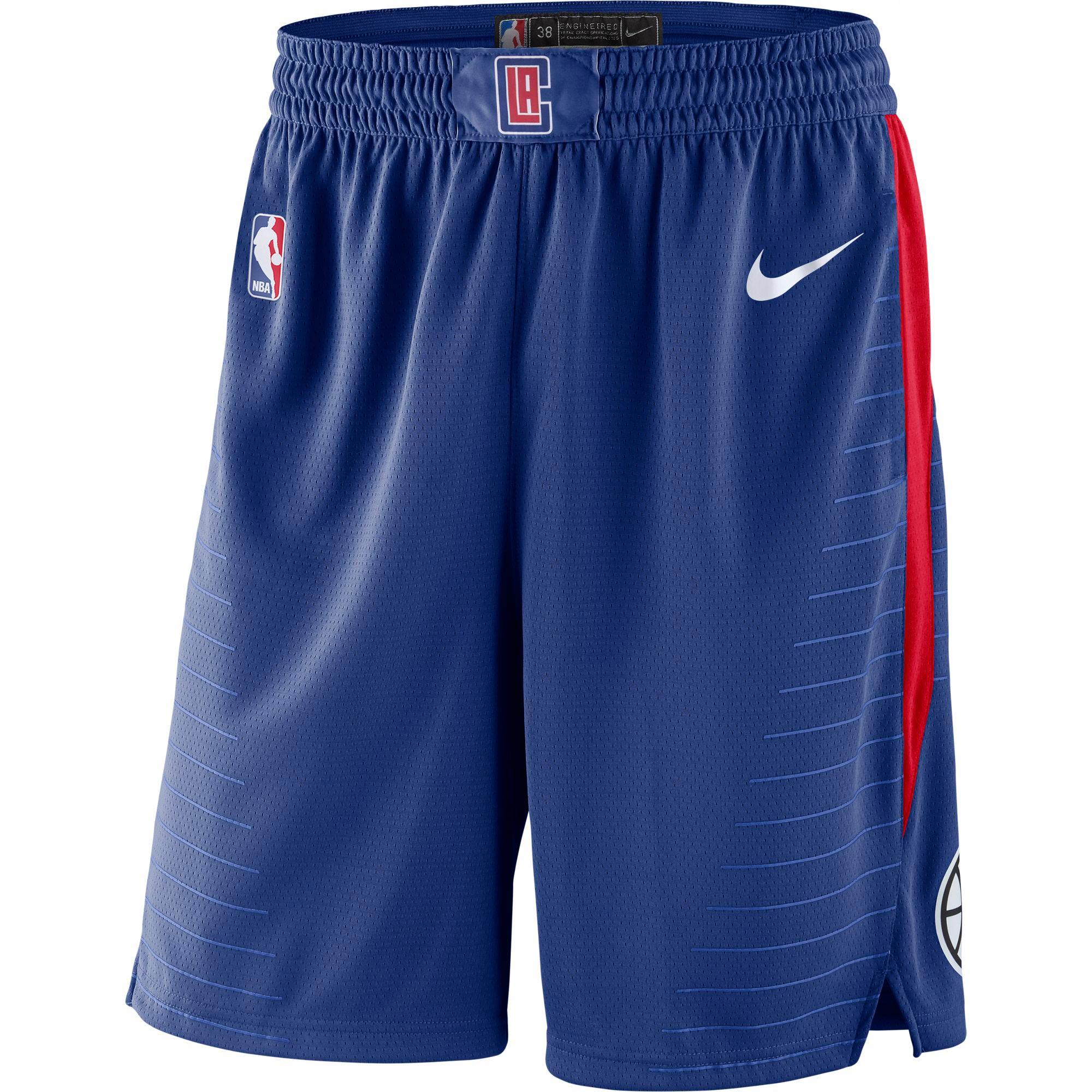 LA Clippers Nike Icon Swingman Shorts - Mens