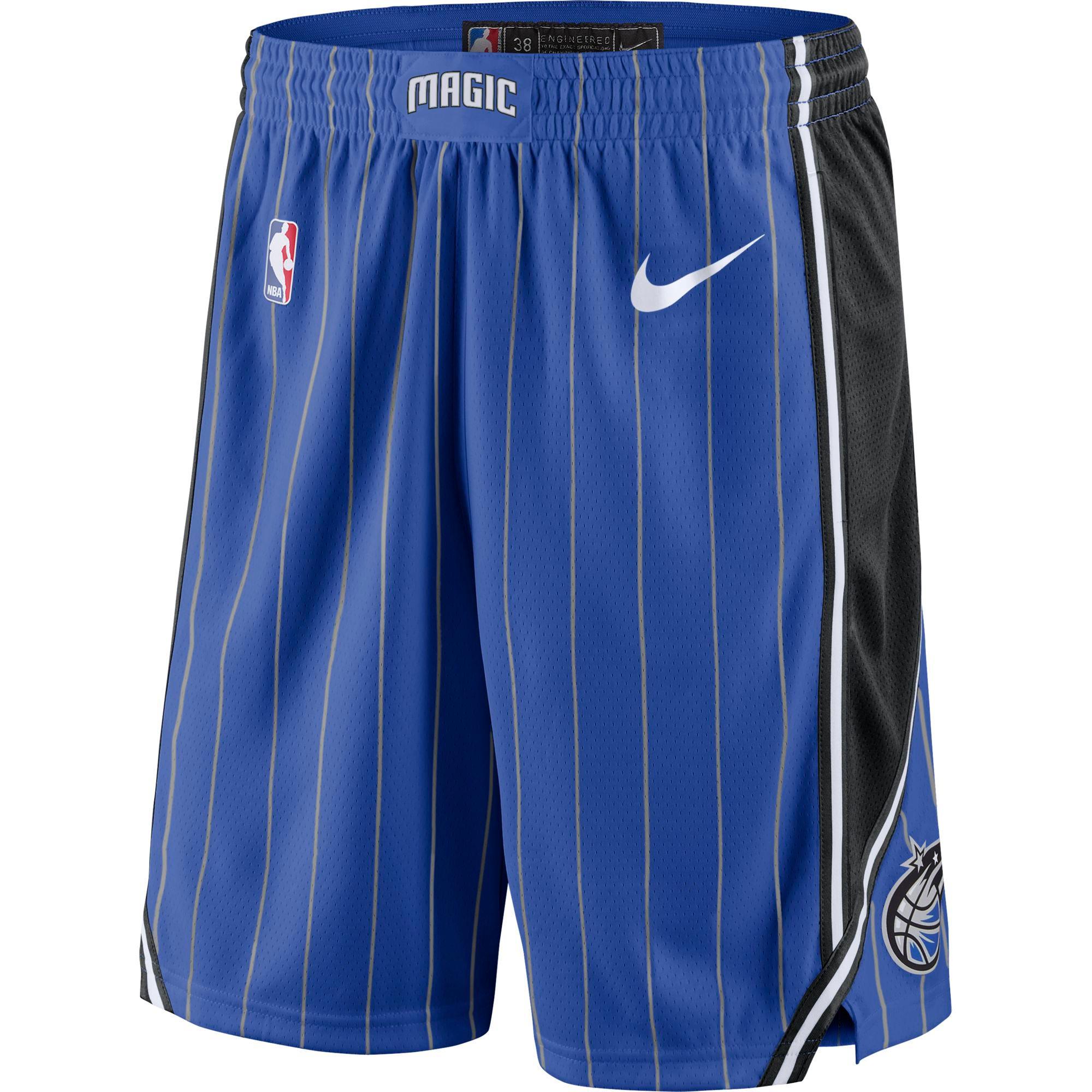 Orlando Magic Nike Icon Swingman Shorts - Mens