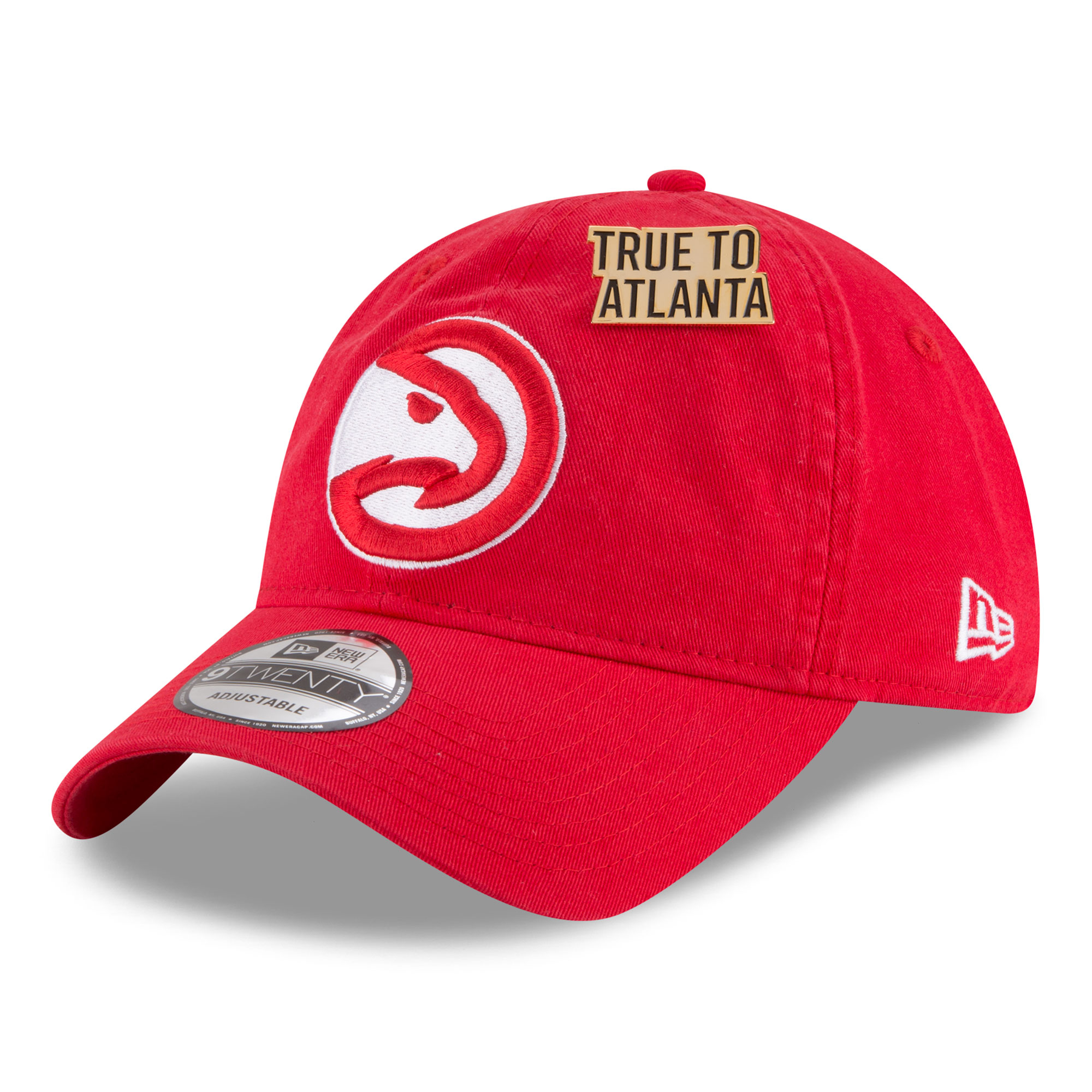 "Image of ""Atlanta Hawks New Era Official Draft 9TWENTY Adjustable Cap 2018 - Mens"""
