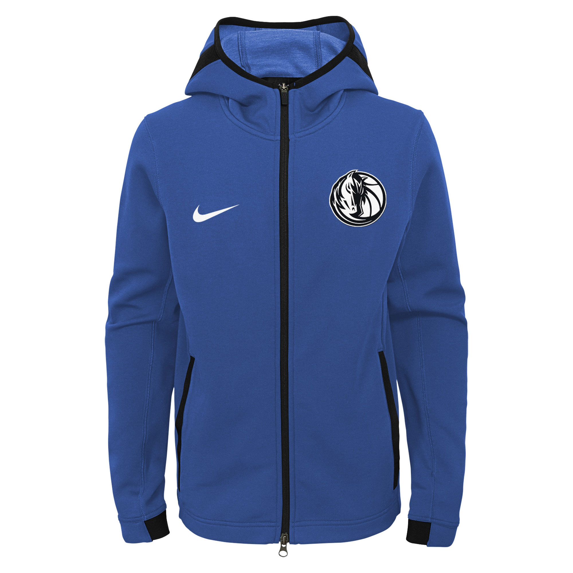 """Dallas Mavericks Dallas Mavericks Nike Thermaflex Showtime Jacket - Youth"""