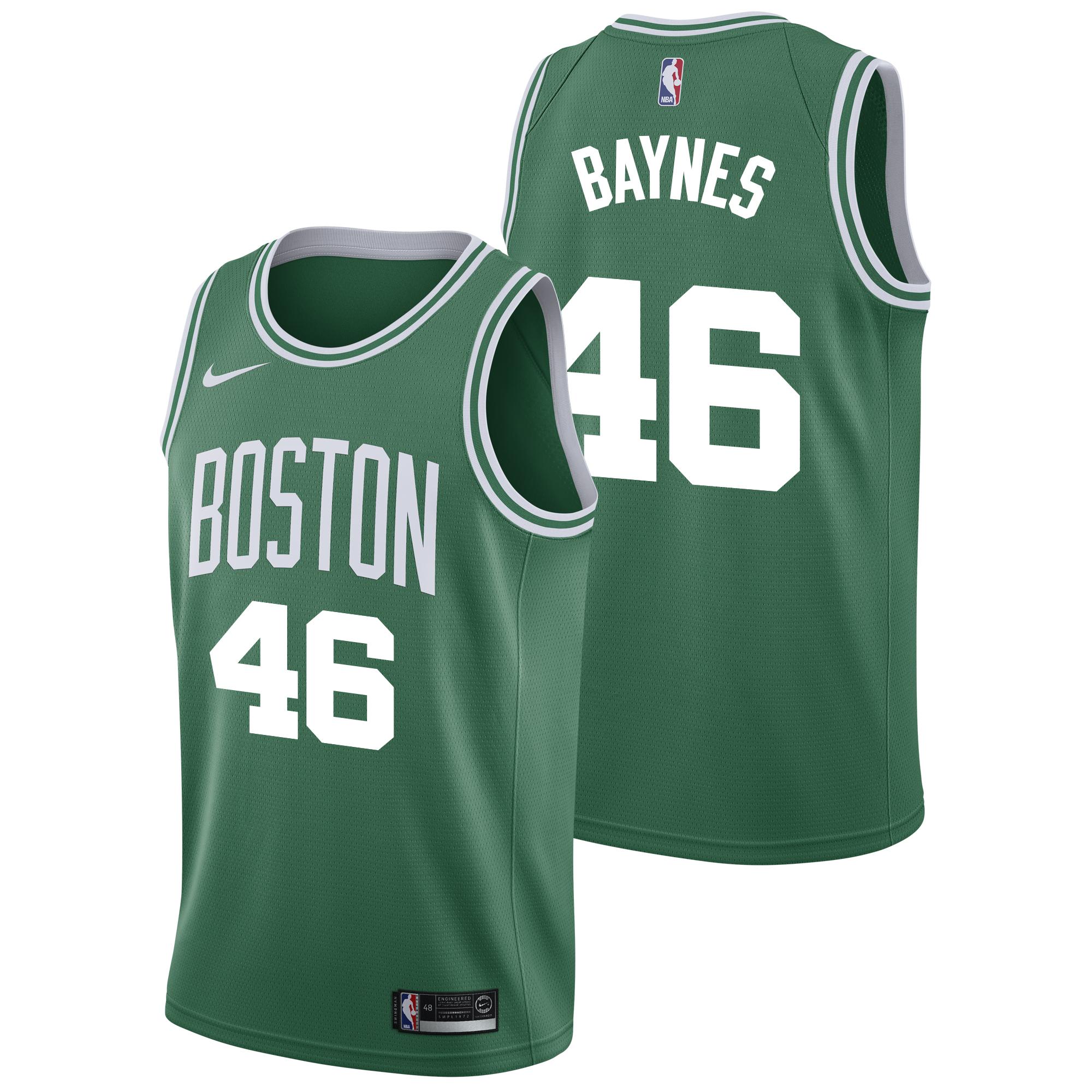 """""""Boston Celtics Nike Icon Swingman Jersey - Aron Baynes - Mens"""""""