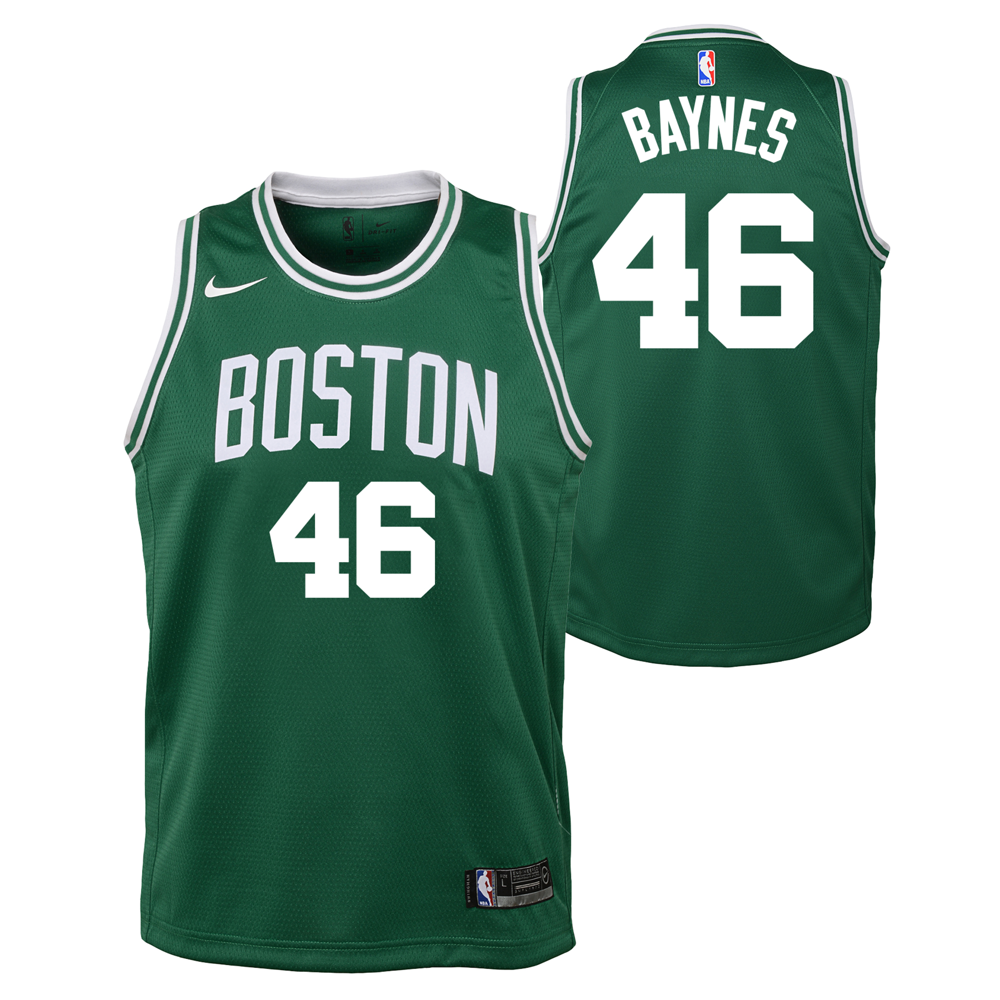"""Boston Celtics Nike Icon Swingman Jersey - Aron Baynes - Youth"""