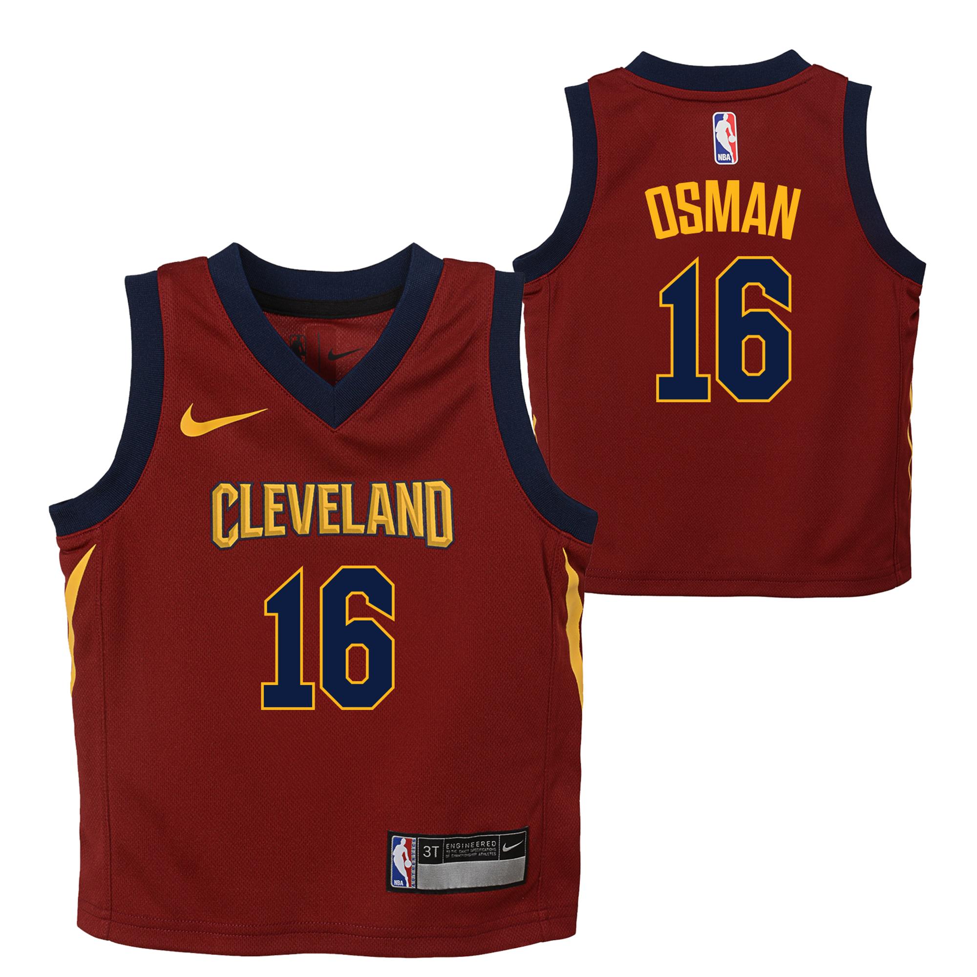 Cleveland Cavaliers Nike Icon Replica Camiseta de la NBA - Cedi Osman - Niños pequeños