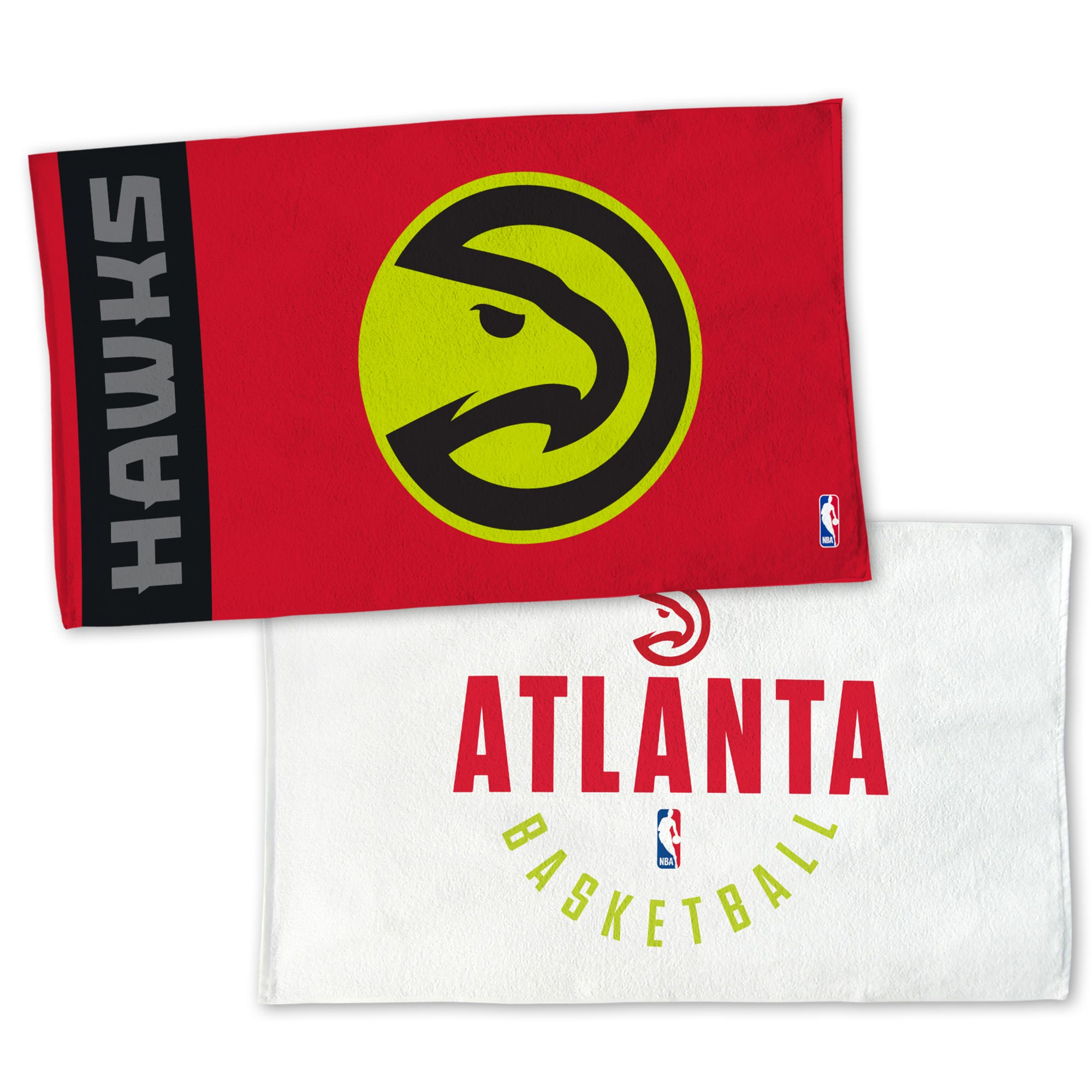 "Image of ""Atlanta Hawks NBA Authentics On-Court Bench Towel"""