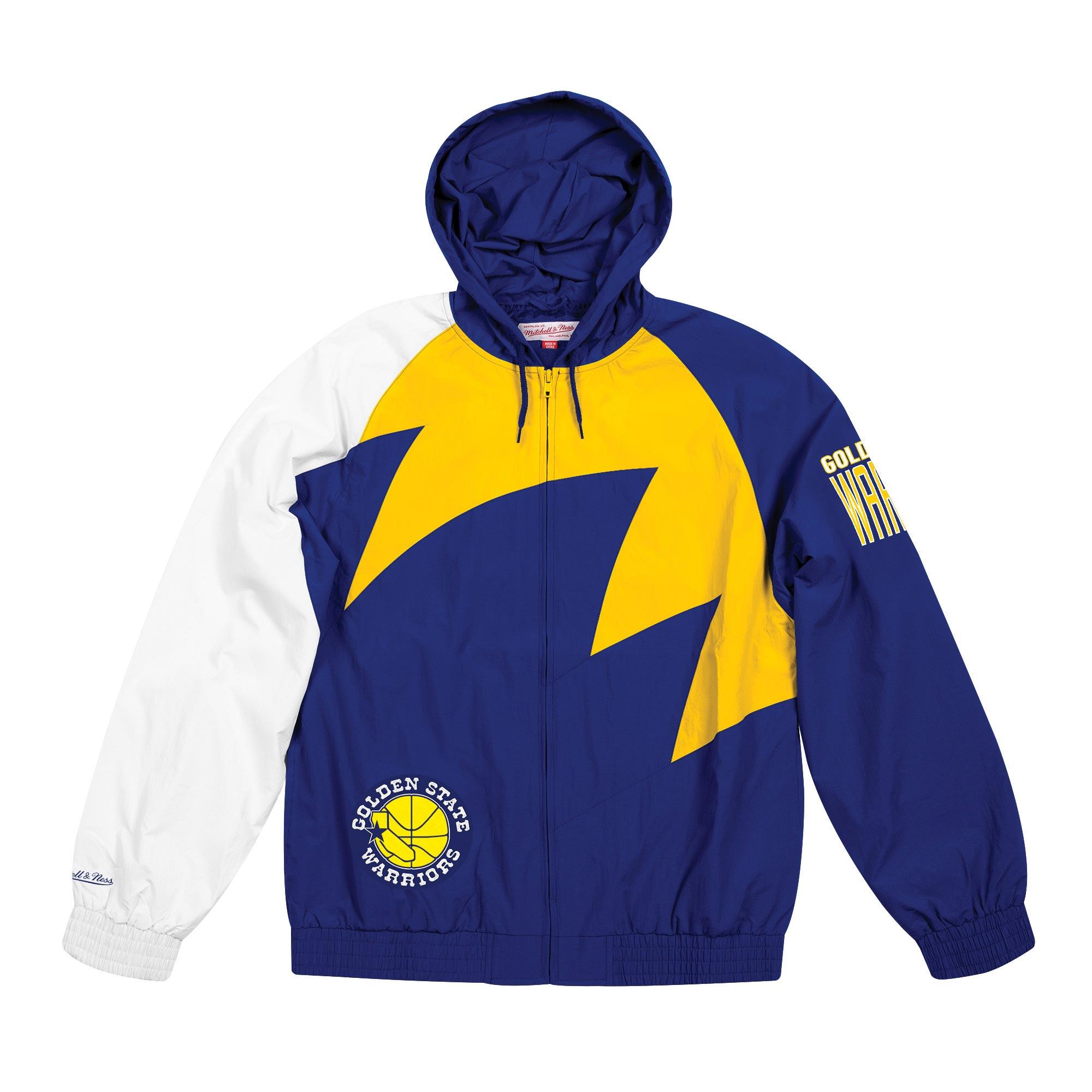 Club Branded / Chaqueta Sharktooth de los Golden State Warriors de Mitchell&Ness para hombre