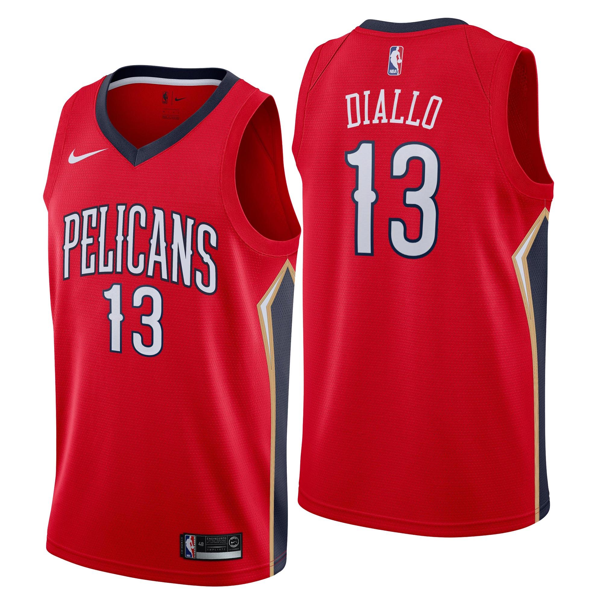 New Orleans Pelicans Nike Statement Swingman Camiseta de la NBA - Cheick Diallo - Hombre