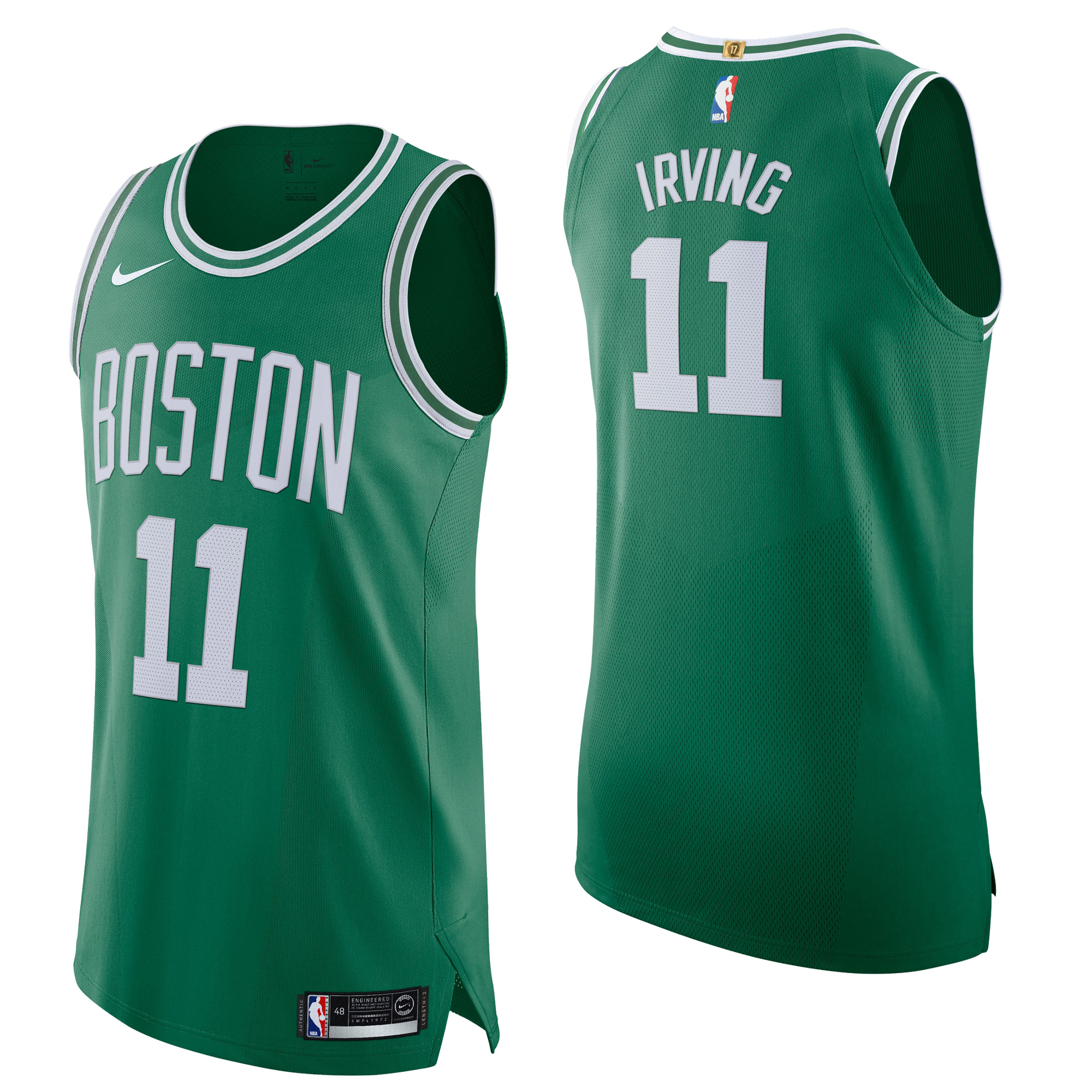 """Boston Celtics Nike Icon Authentic Jersey - Kyrie Irving - Mens"""