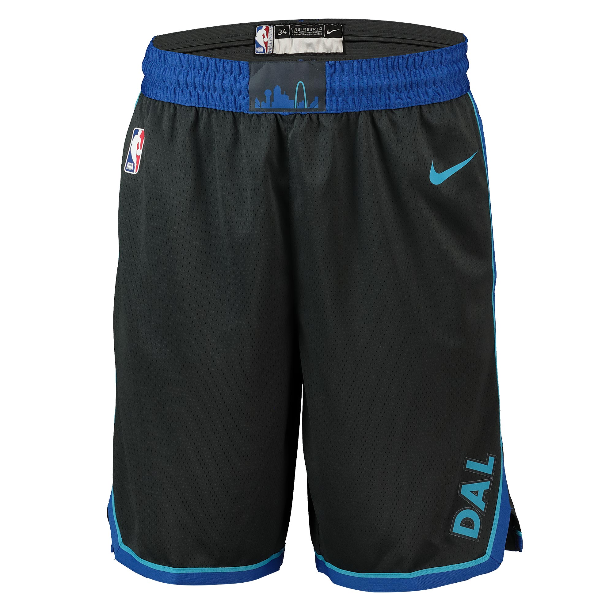 """Dallas Mavericks Nike City Edition Swingman Short - Mens"""