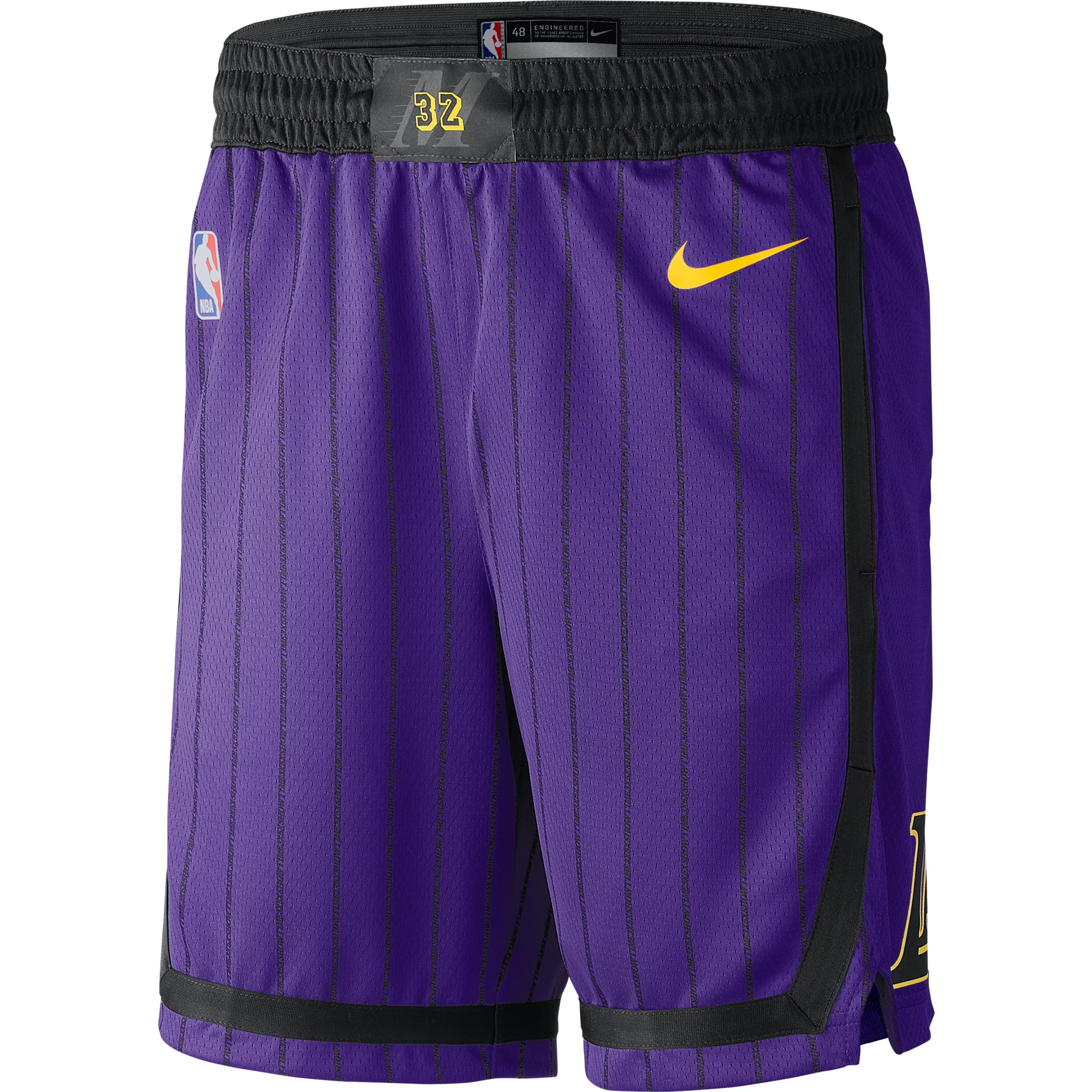 """Los Angeles Lakers Nike City Edition Swingman Short - Mens"""