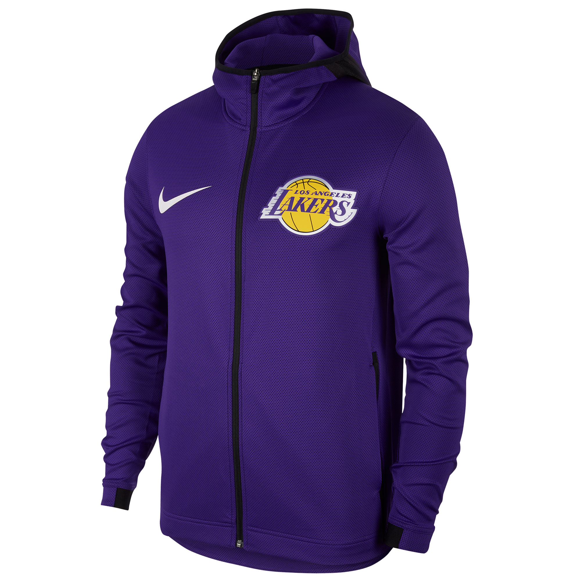 """Los Angeles Lakers Nike Showtime Therma Flex Hoodie - Mens"""