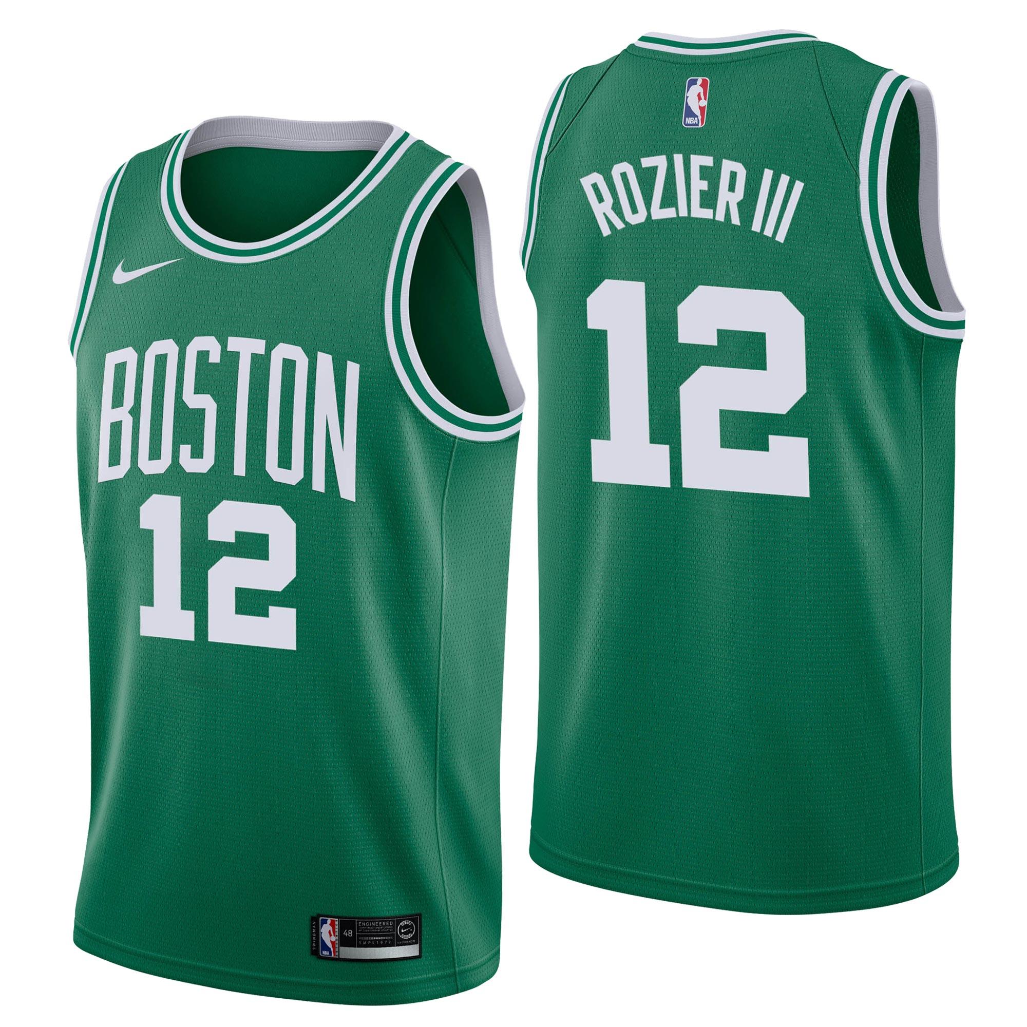 """Boston Celtics Nike Icon Swingman Jersey - Terry Rozier - Mens"""