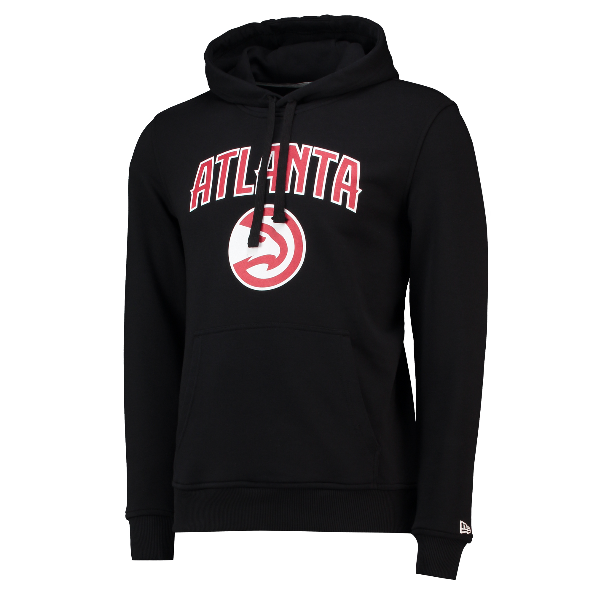 "Image of ""Atlanta Hawks New Era Team Logo Hoodie - Mens"""