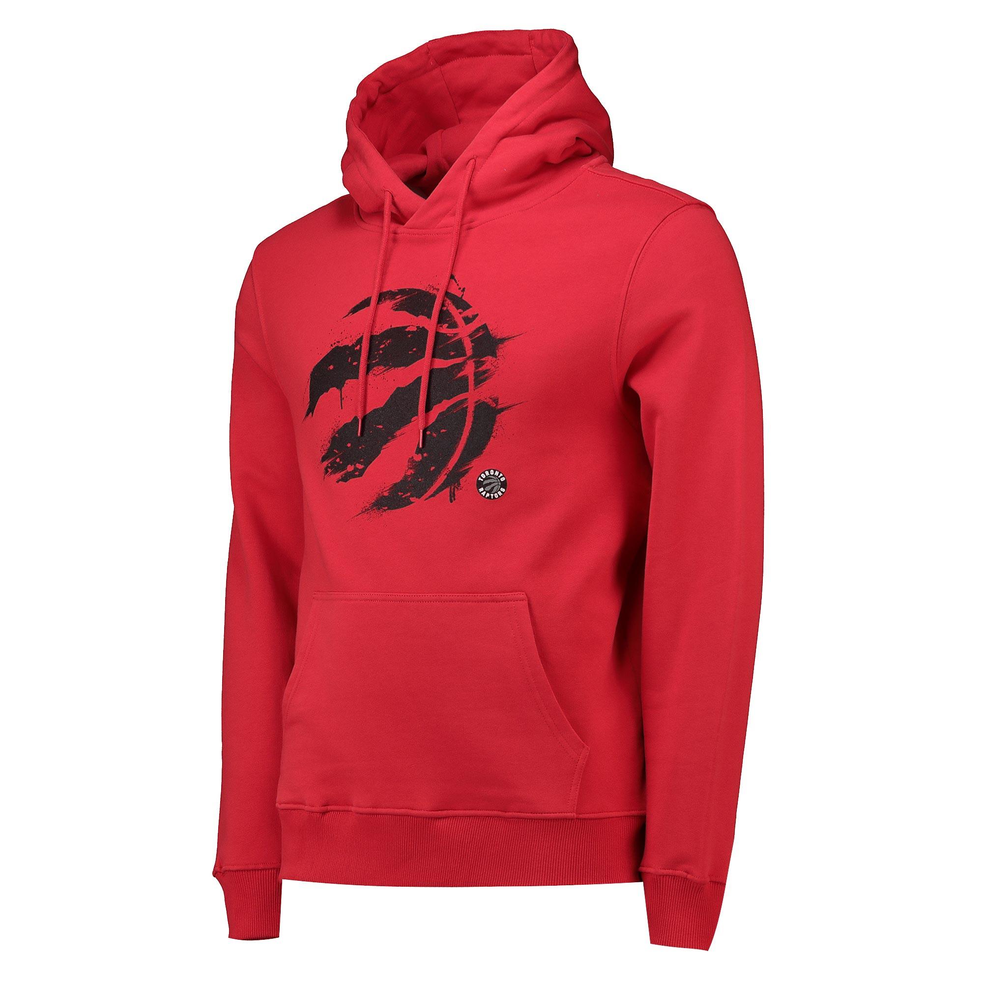 Toronto Raptors Graphic Splatter Hoodie - Uni Red - Mens