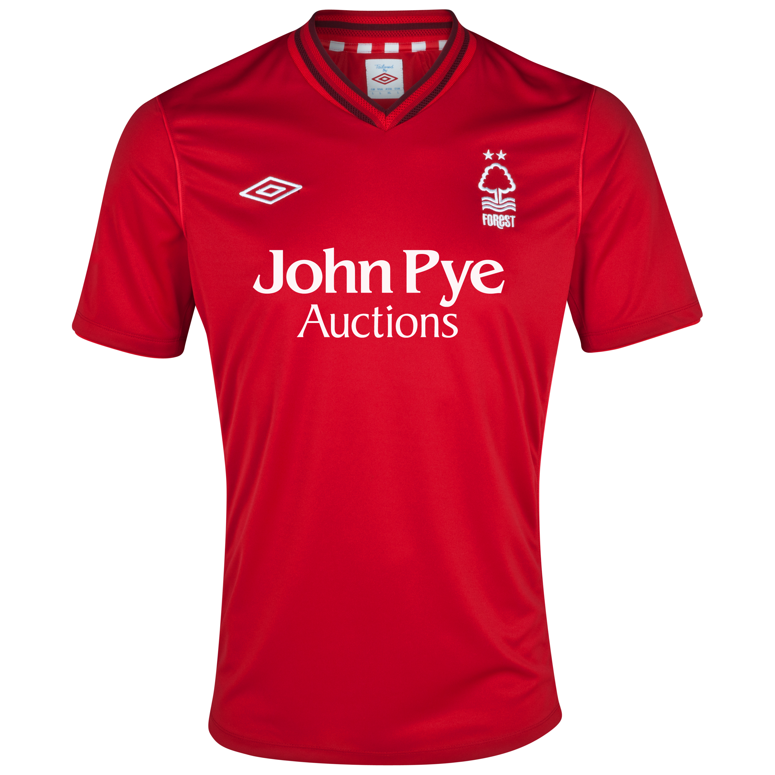 Nottingham Forest Home Shirt 2012/13