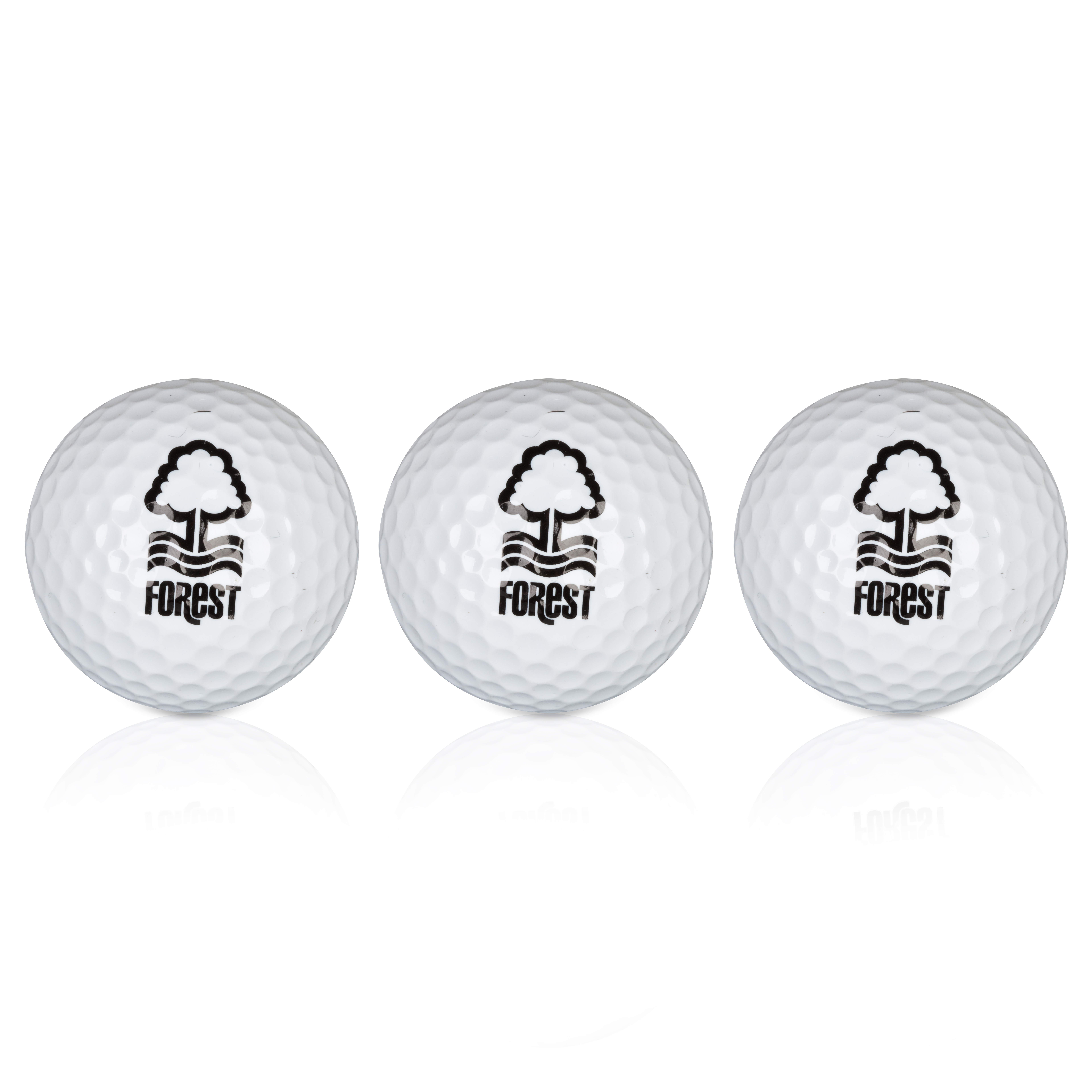 Nottingham Forest Executive Golf Balls 3 Pack