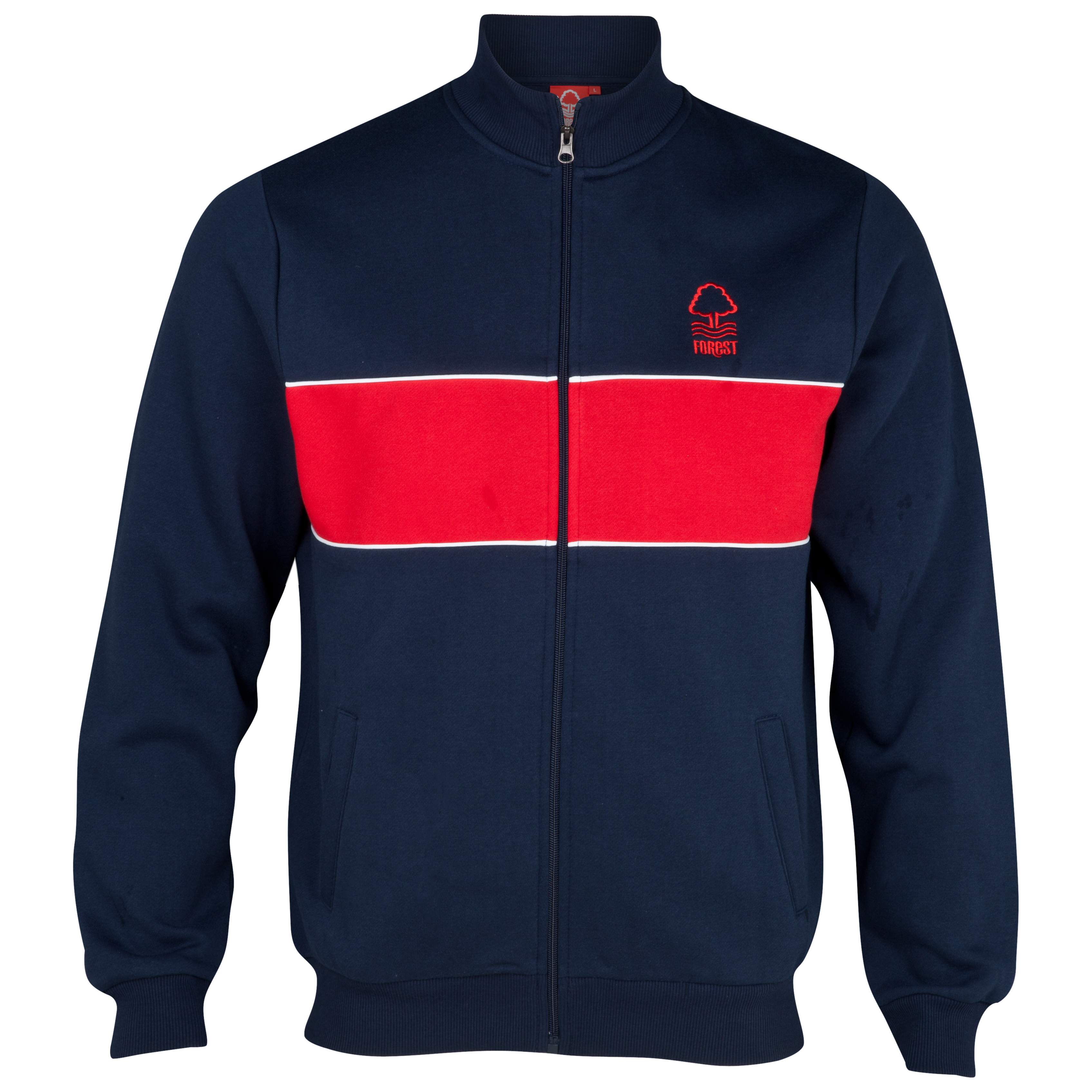 Nottingham Forest Essential  Hatrick Track Top - Navy/Red - Older Boys