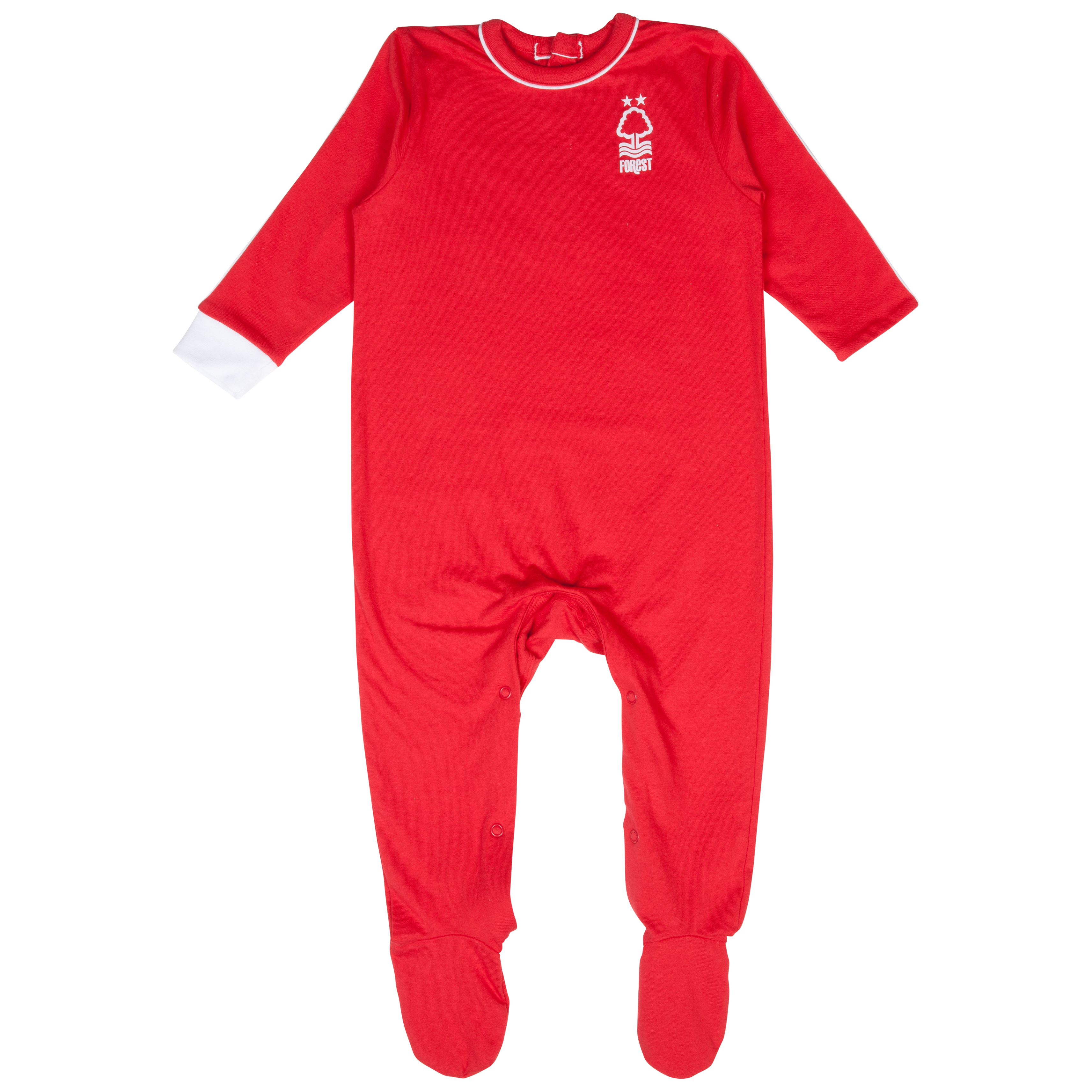 Nottingham Forest 13/14 Kit Sleepsuit - Red - Baby