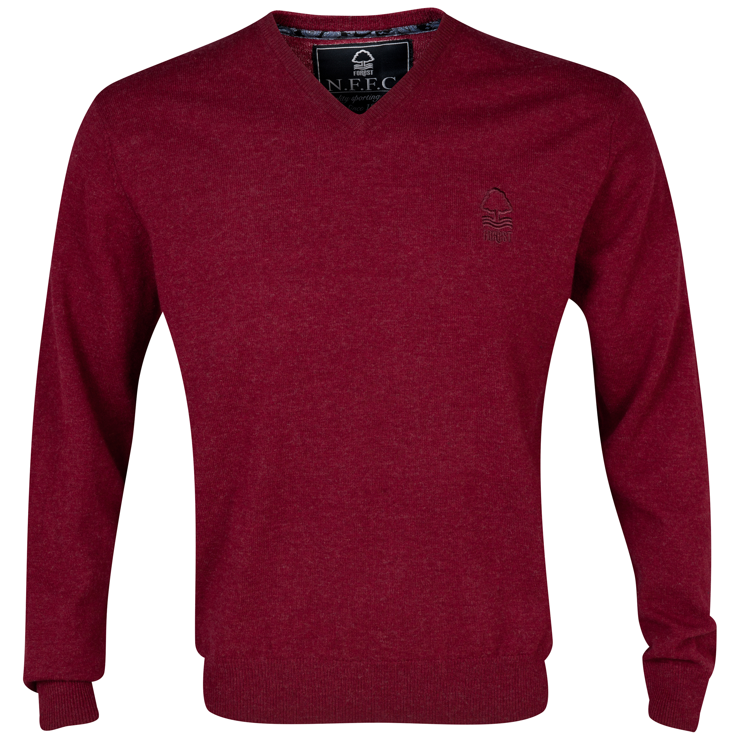 Nottingham Forest Lambswool Jumper Red