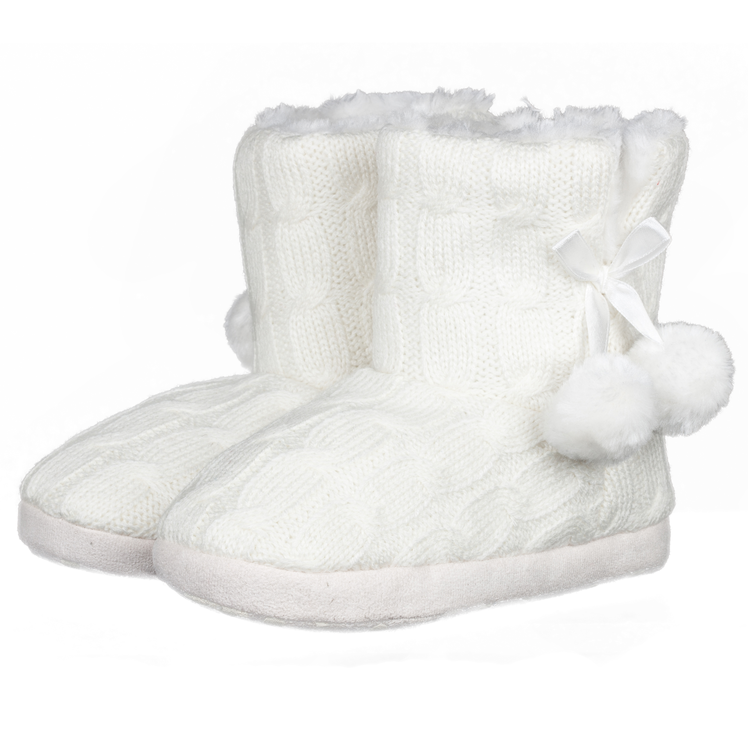 Nottingham Forest Ella Boot Slippers Girls Cream