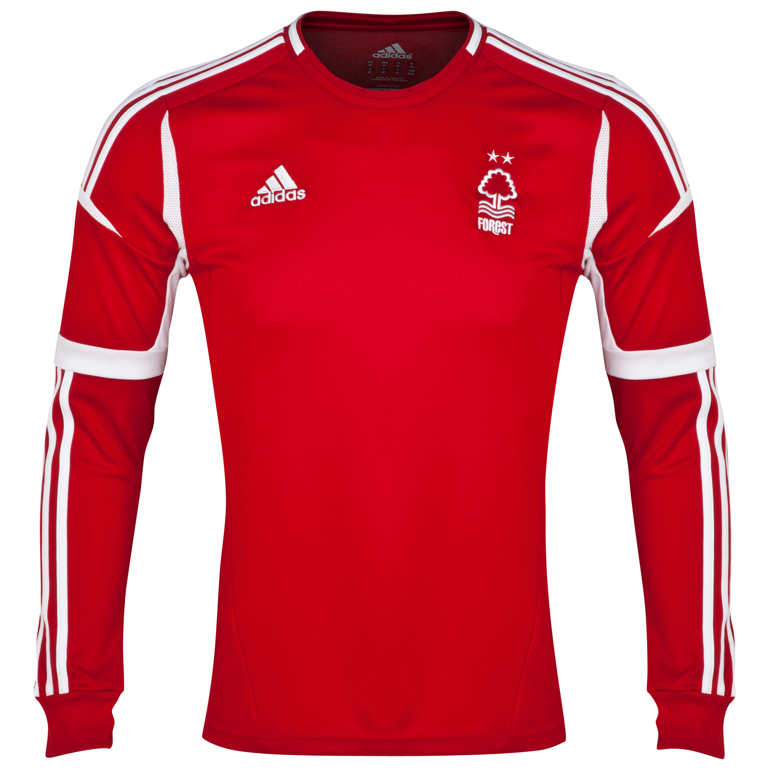 Nottingham Forest Home Shirt 2013/14 - Long Sleeved