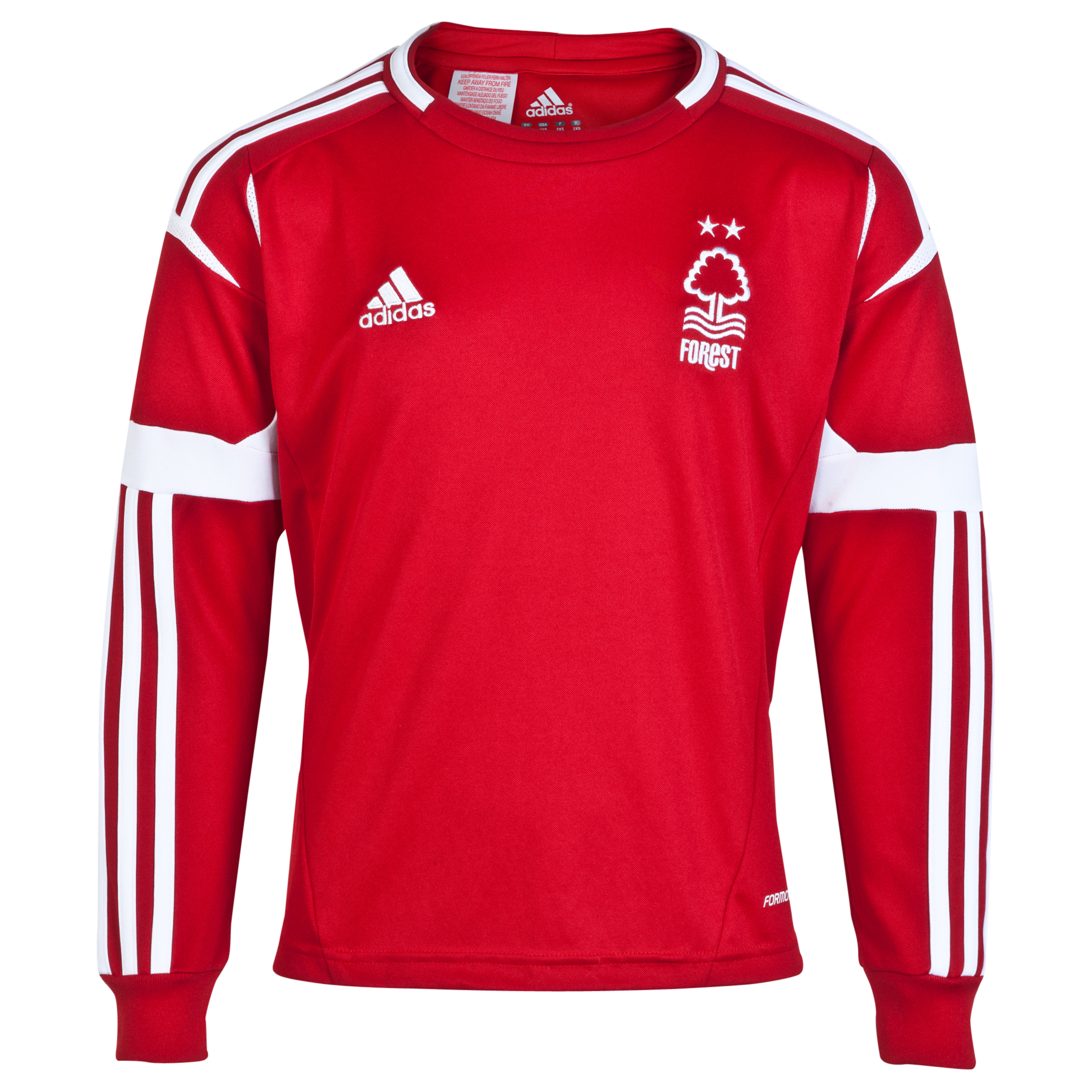 Nottingham Forest Home Shirt 2013/14 - Long Sleeved - Junior