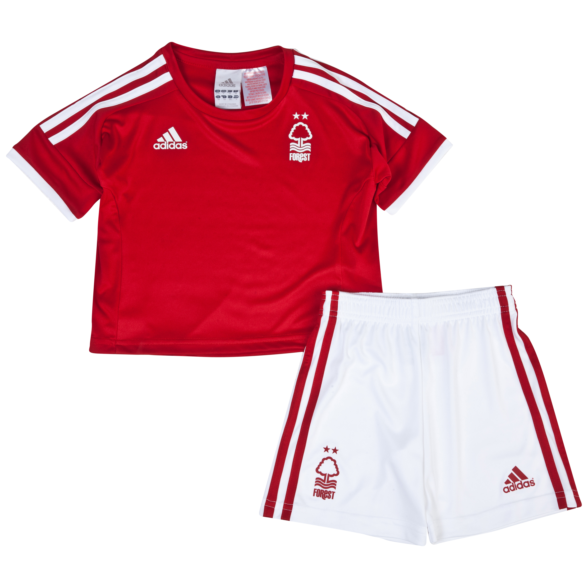 Nottingham Forest Home Minikit 2013/14 - Infants