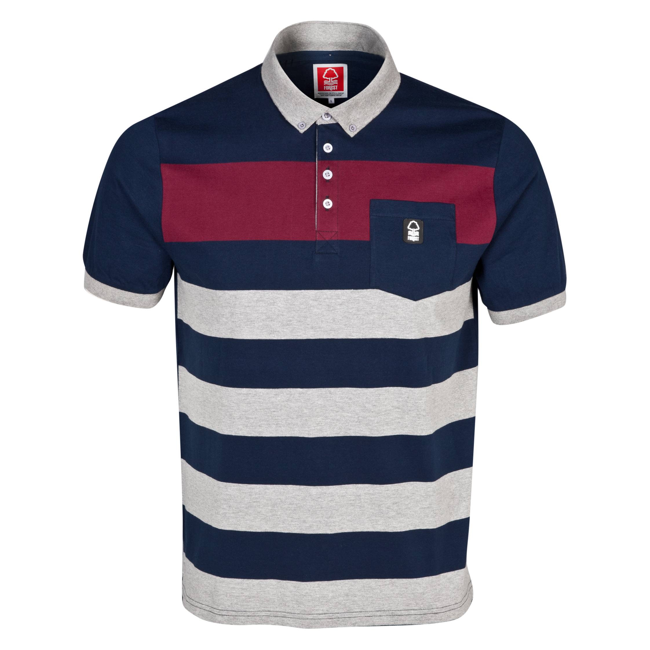 Nottingham Forest Colwick Polo Shirt - Mens Multi