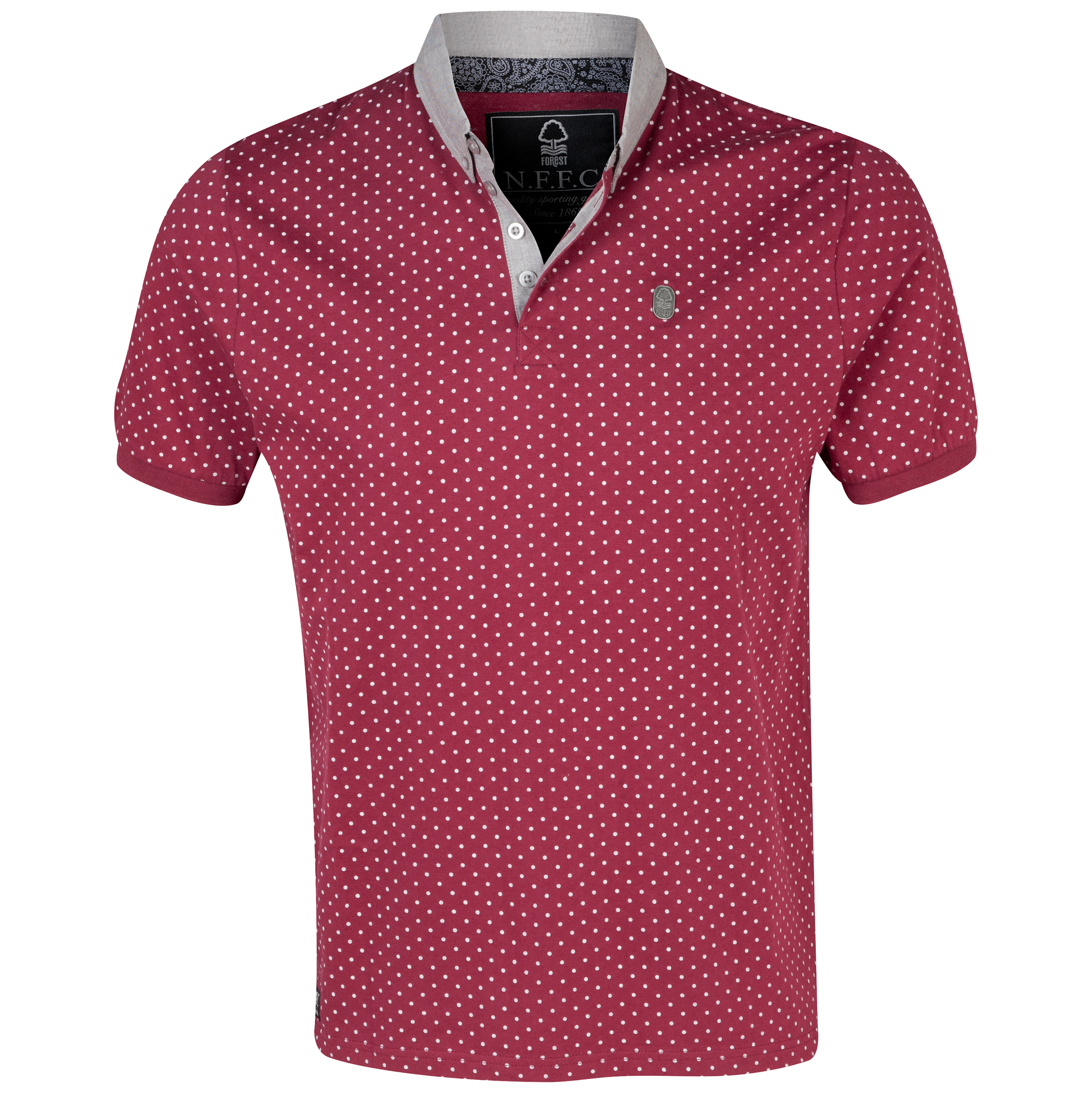 Nottingham Forest Pyatt Polo Shirt - Mens Red