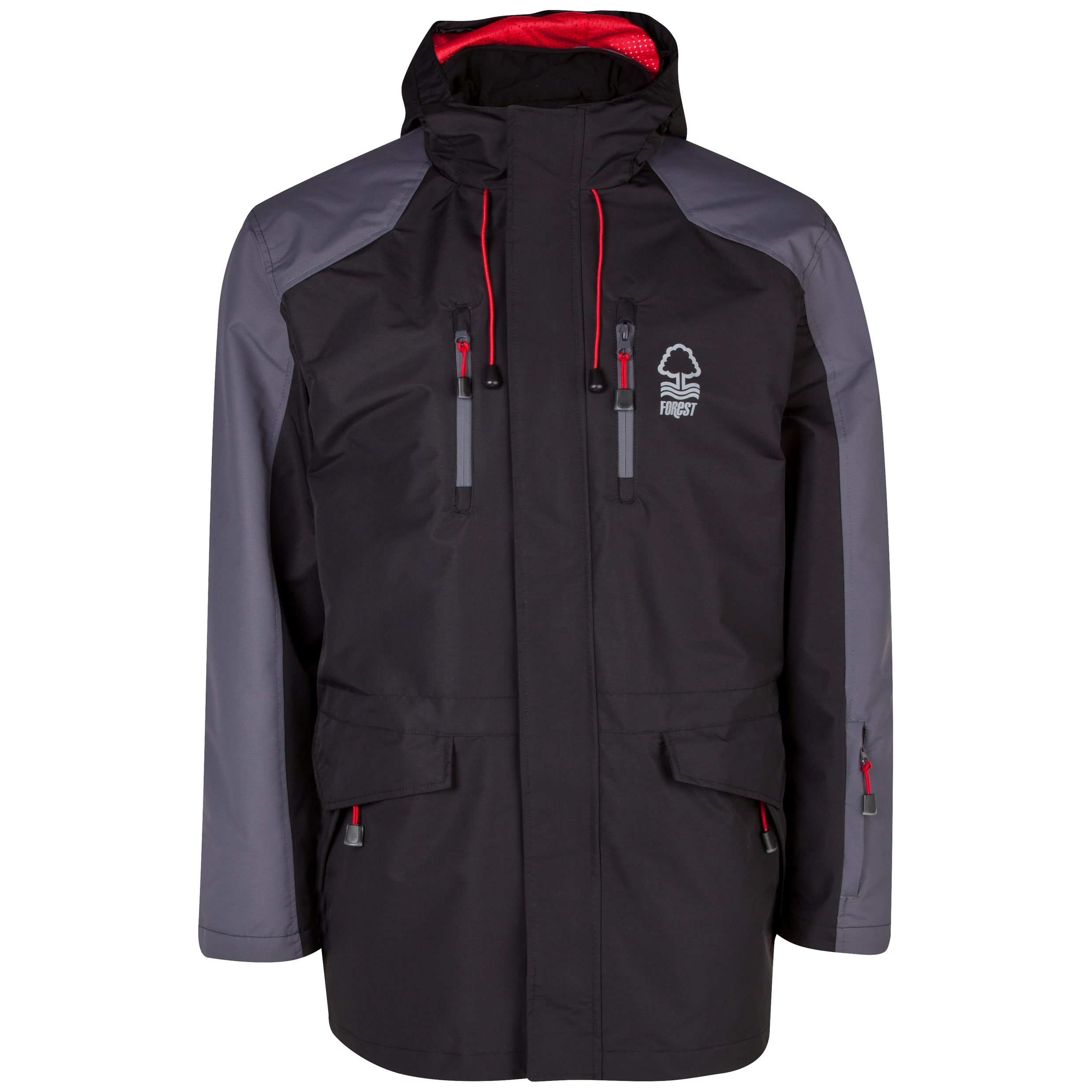 Nottingham Forest Performance Welbeck Coat - Mens Black