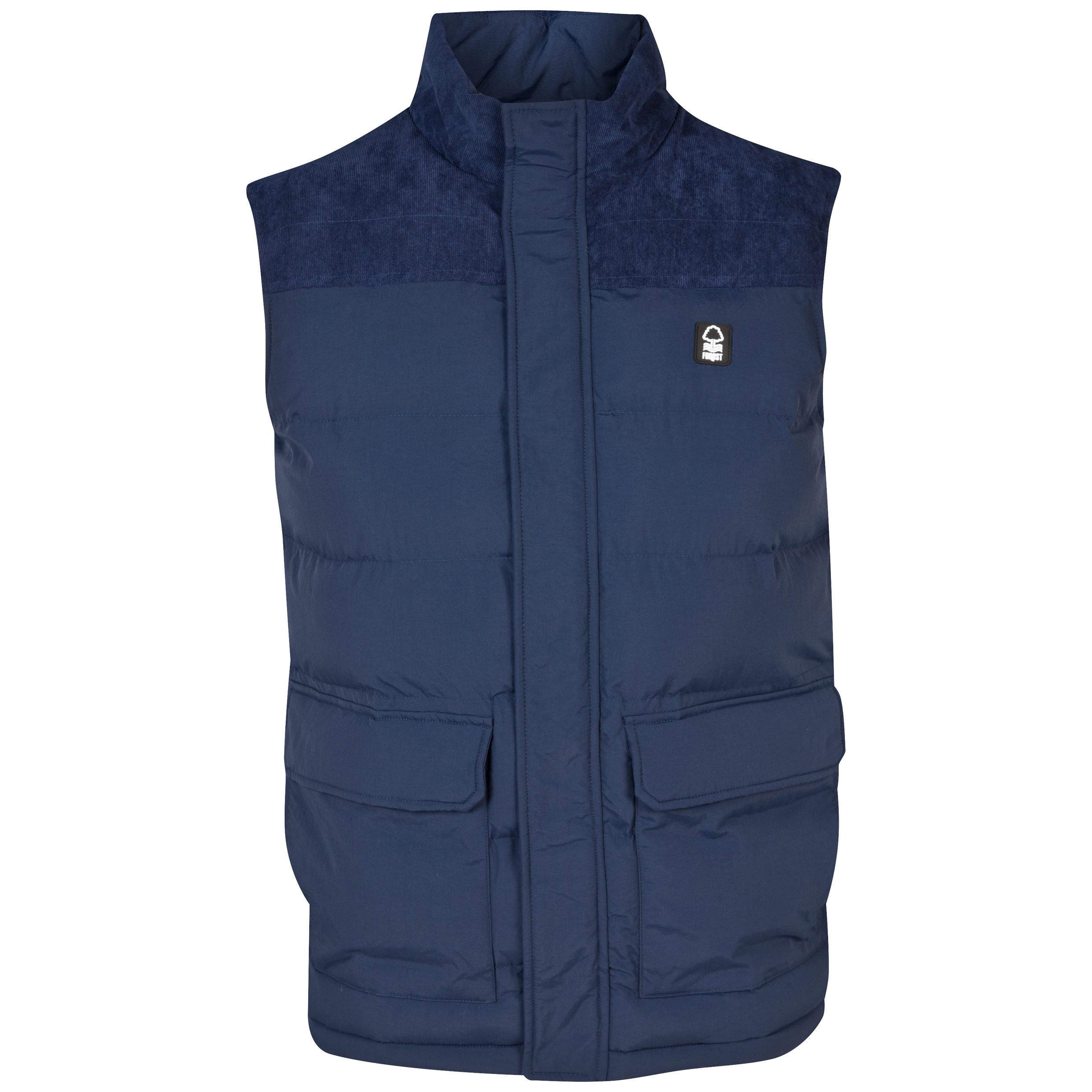 Nottingham Forest Fraser Gilet - Mens Navy
