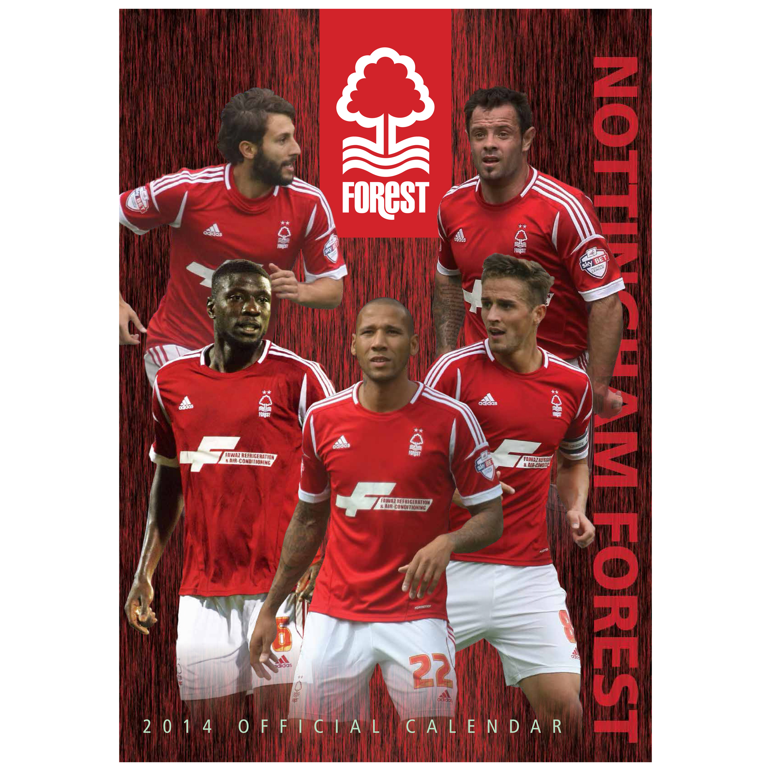 Nottingham Forest Calendar 2014