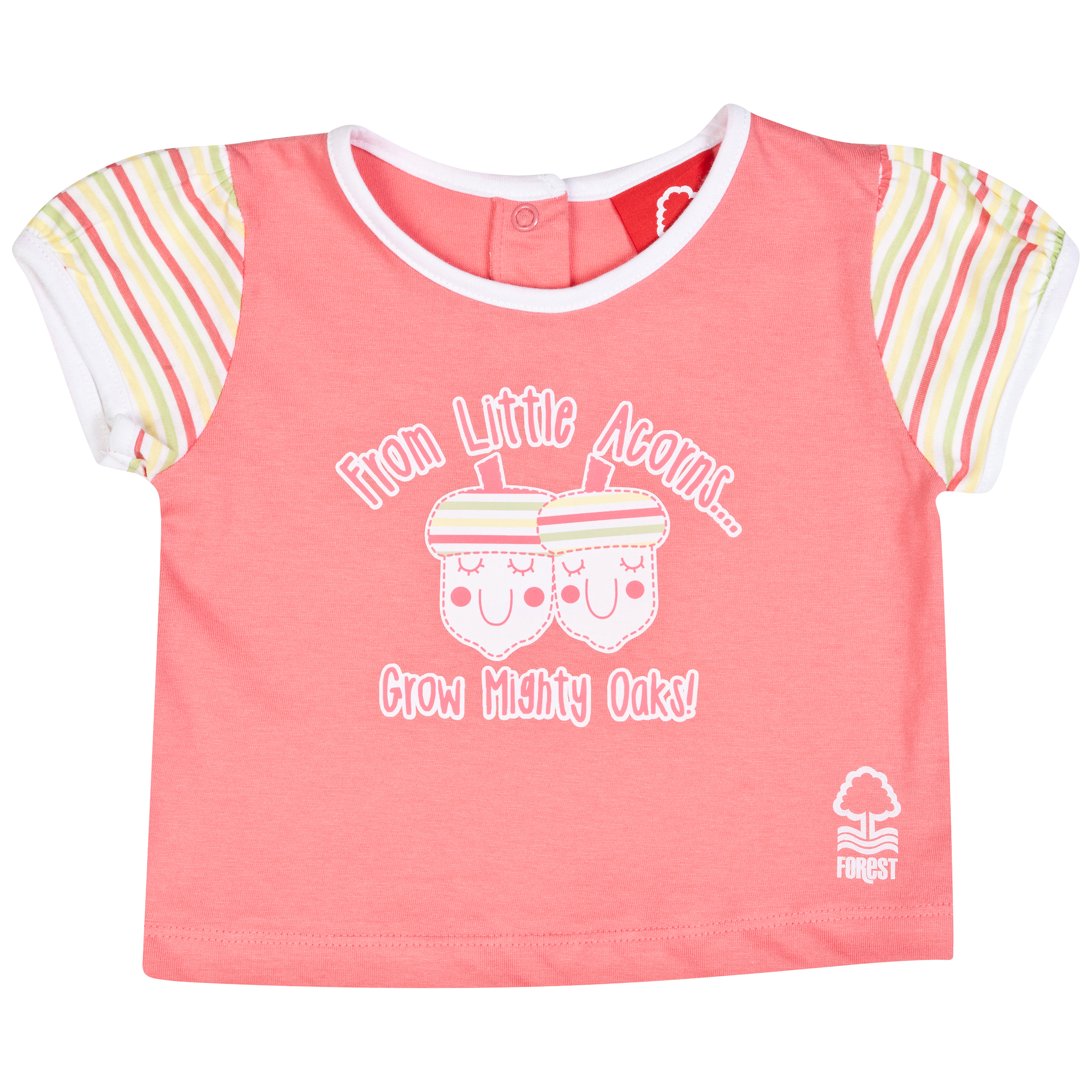Nottingham Forest Nutty T-Shirt-Baby Pink
