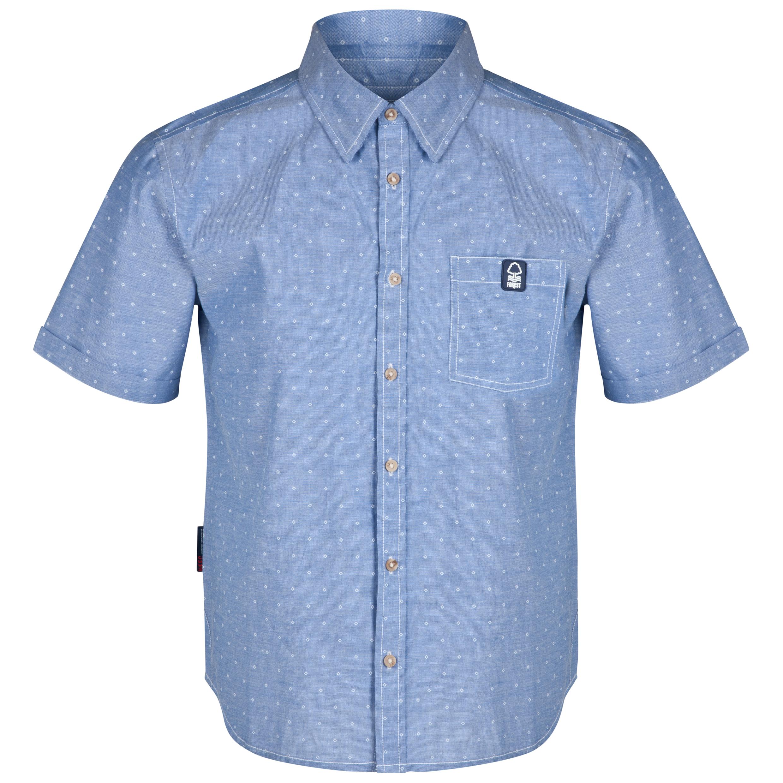 Nottingham Forest Prism Shirt-Mens Lt Blue