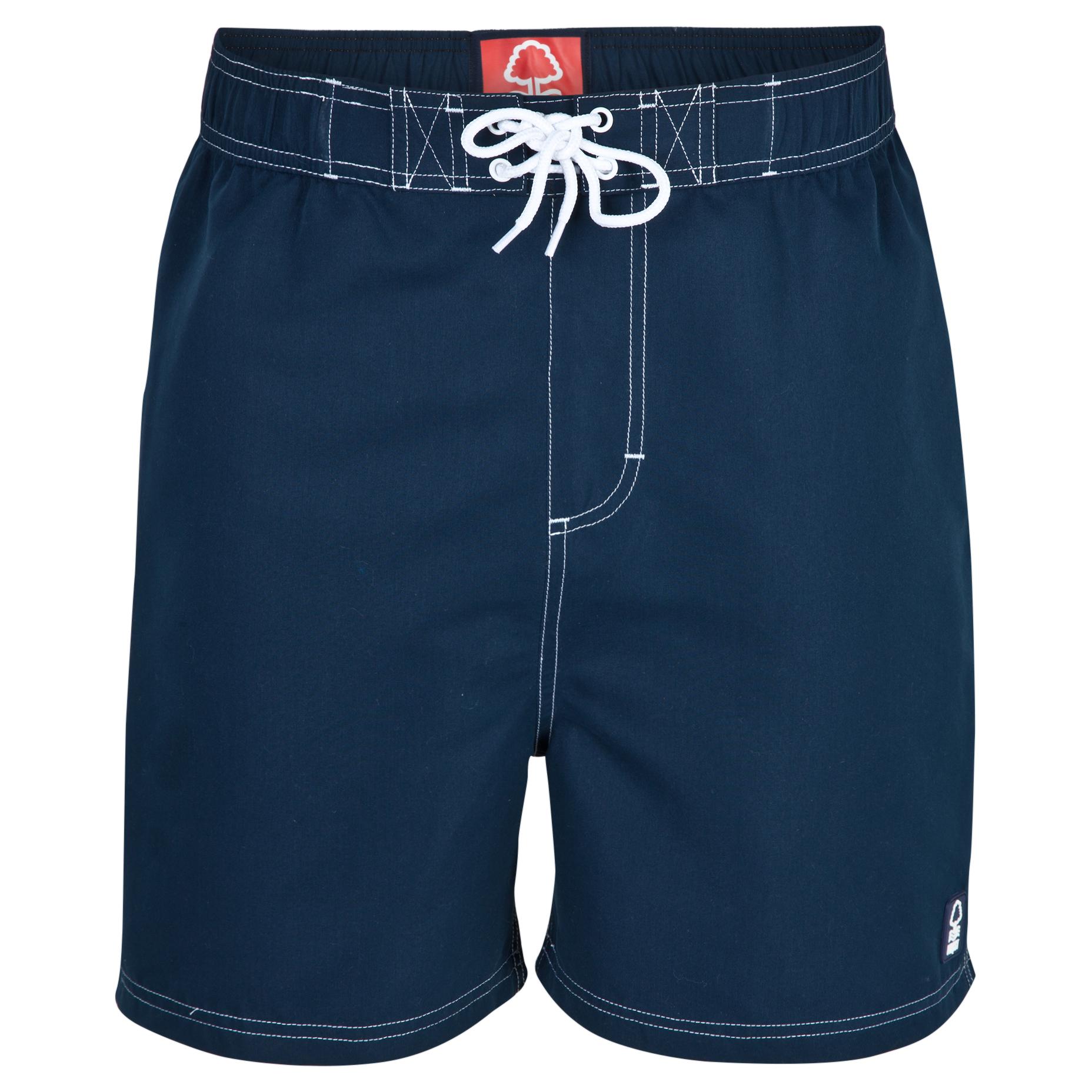 Nottingham Forest Jetty Shorts-Mens Lt Blue