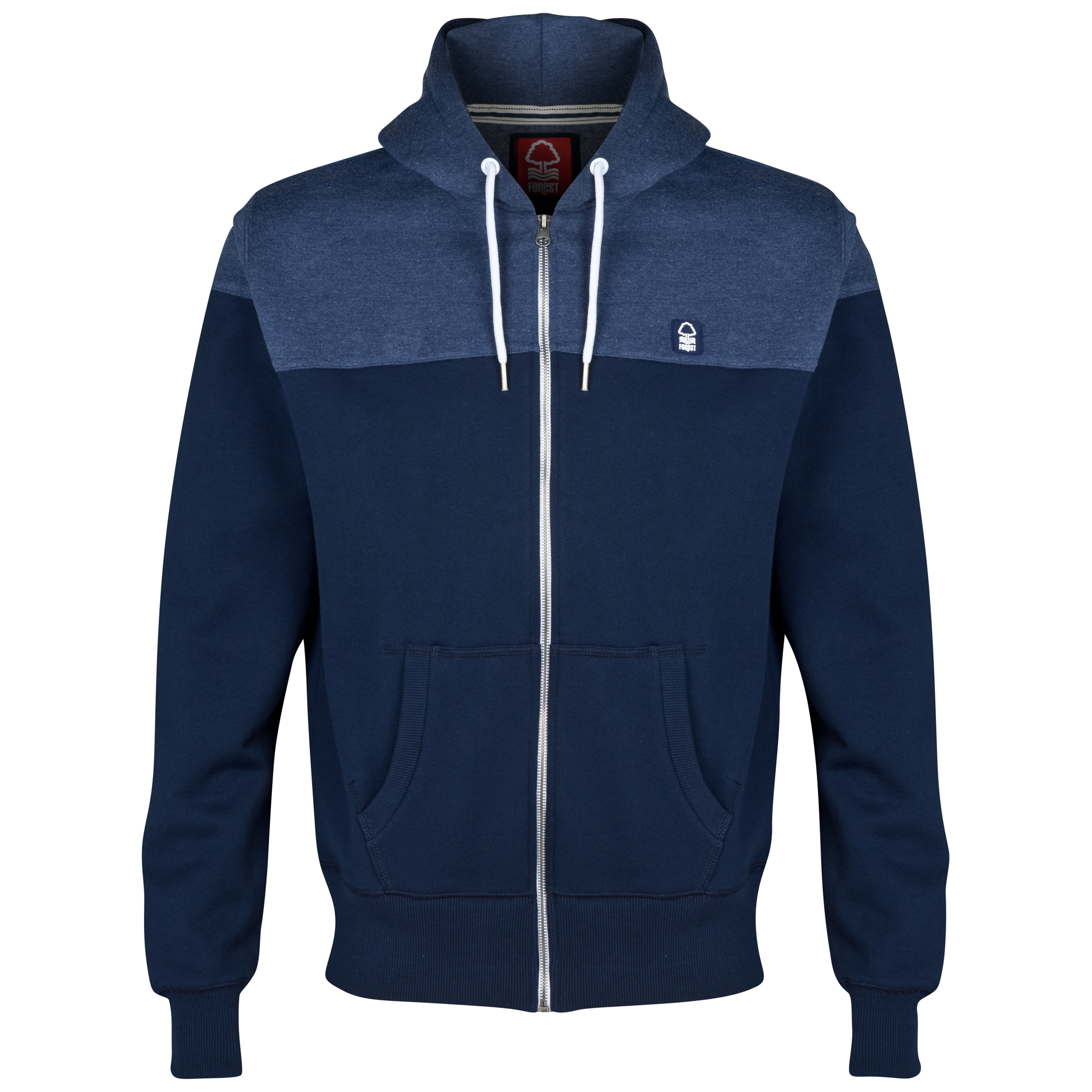 Nottingham Forest Central Hoodie-Mens Navy
