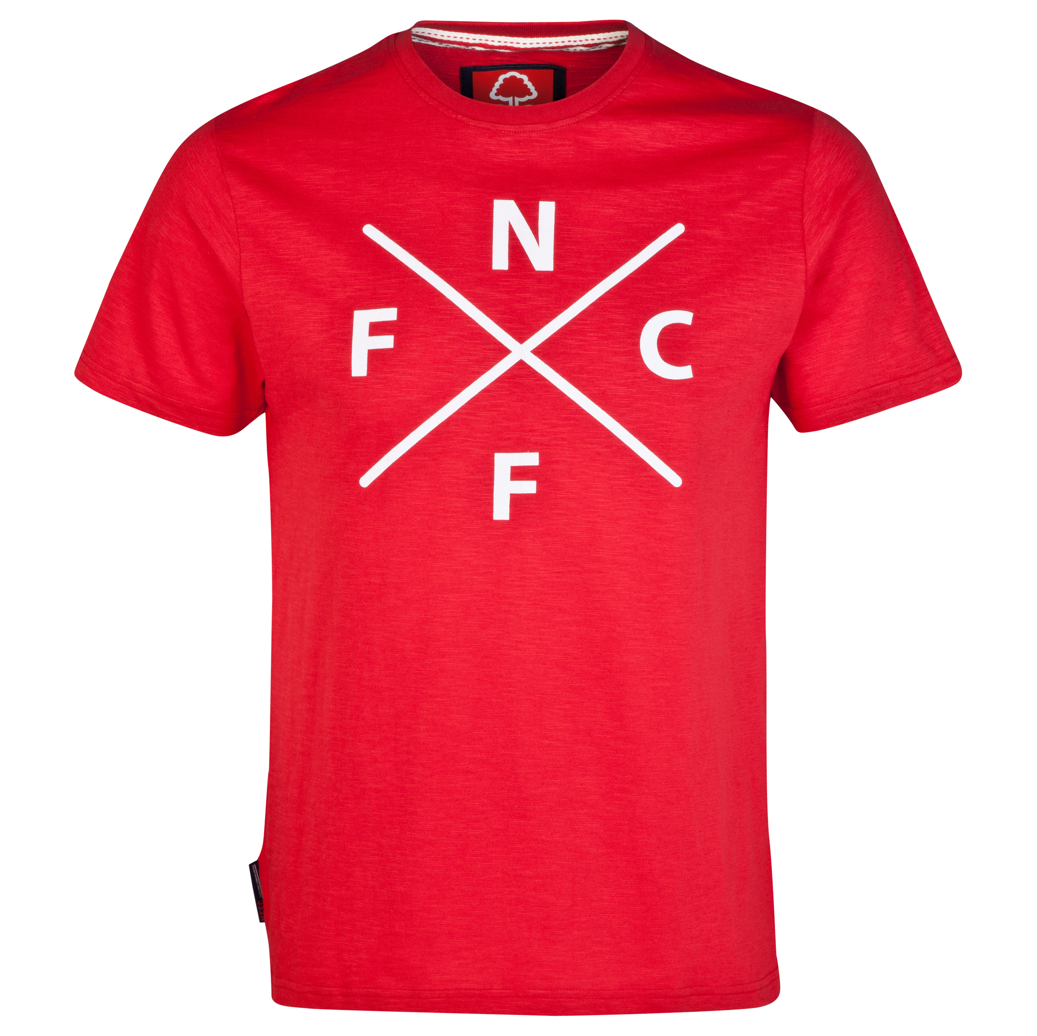 Nottingham Forest Code T-Shirt-Older Boys Red