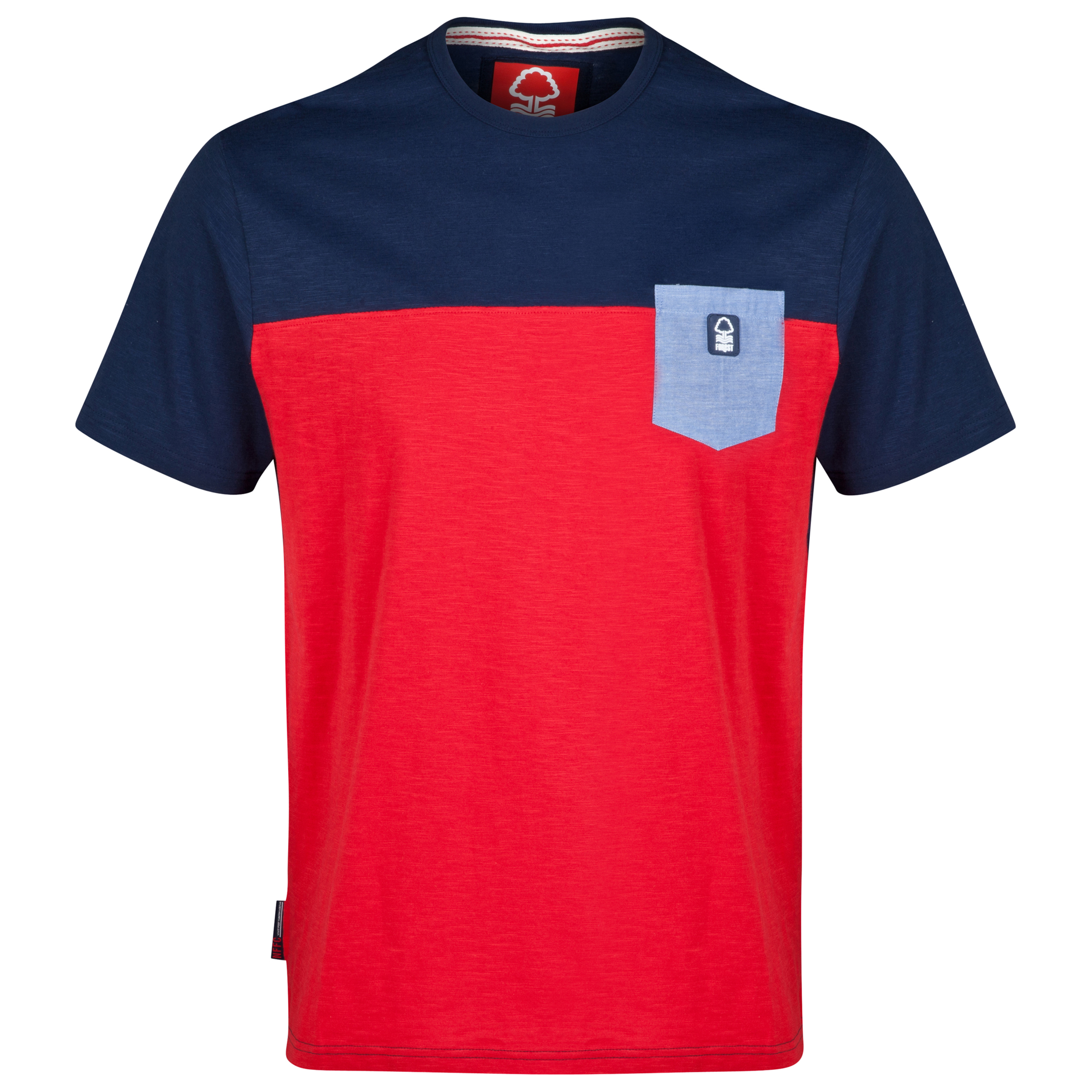 Nottingham Forest Surface T-Shirt-Mens Red