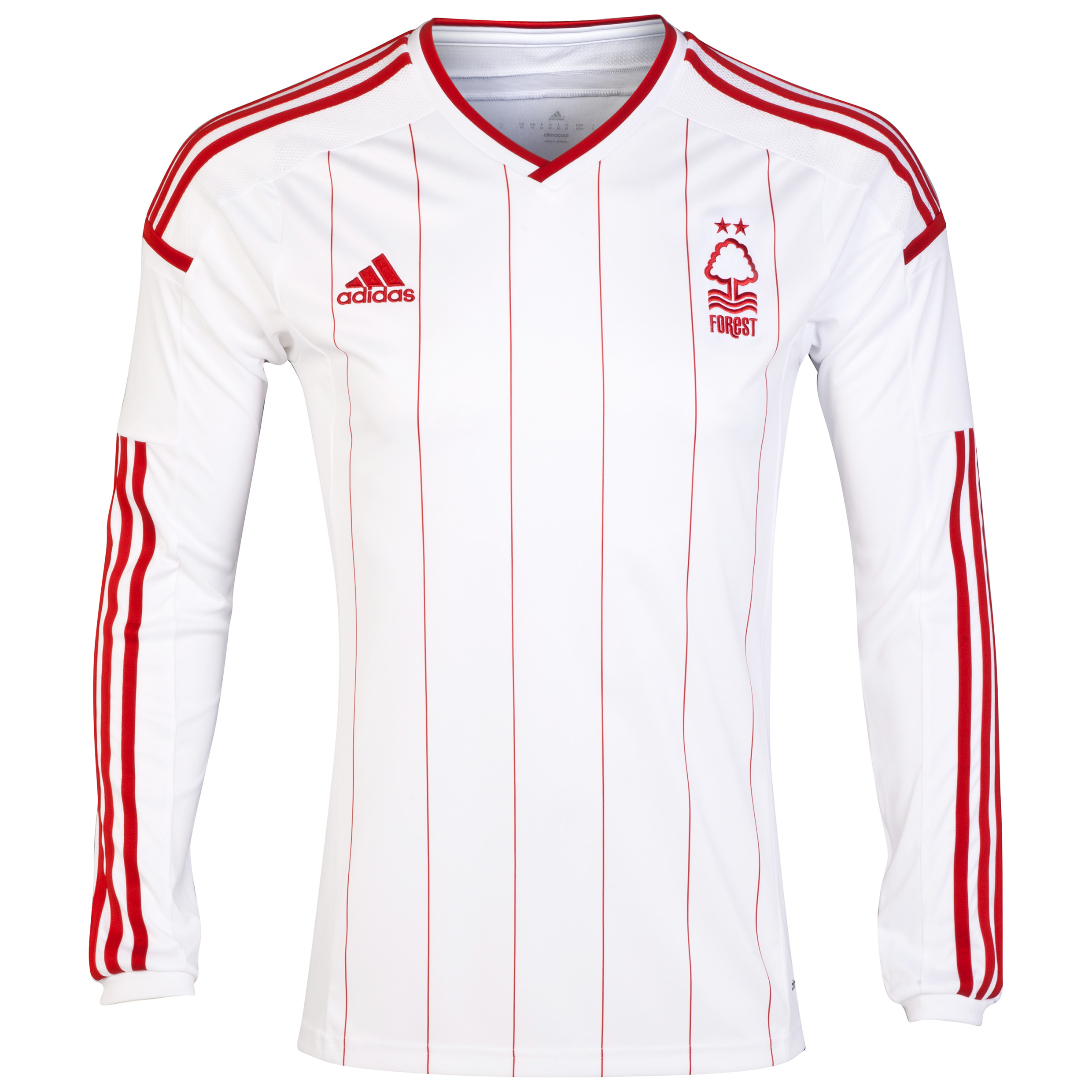Nottingham Forest Away Shirt 2014/15 - Long Sleeved White