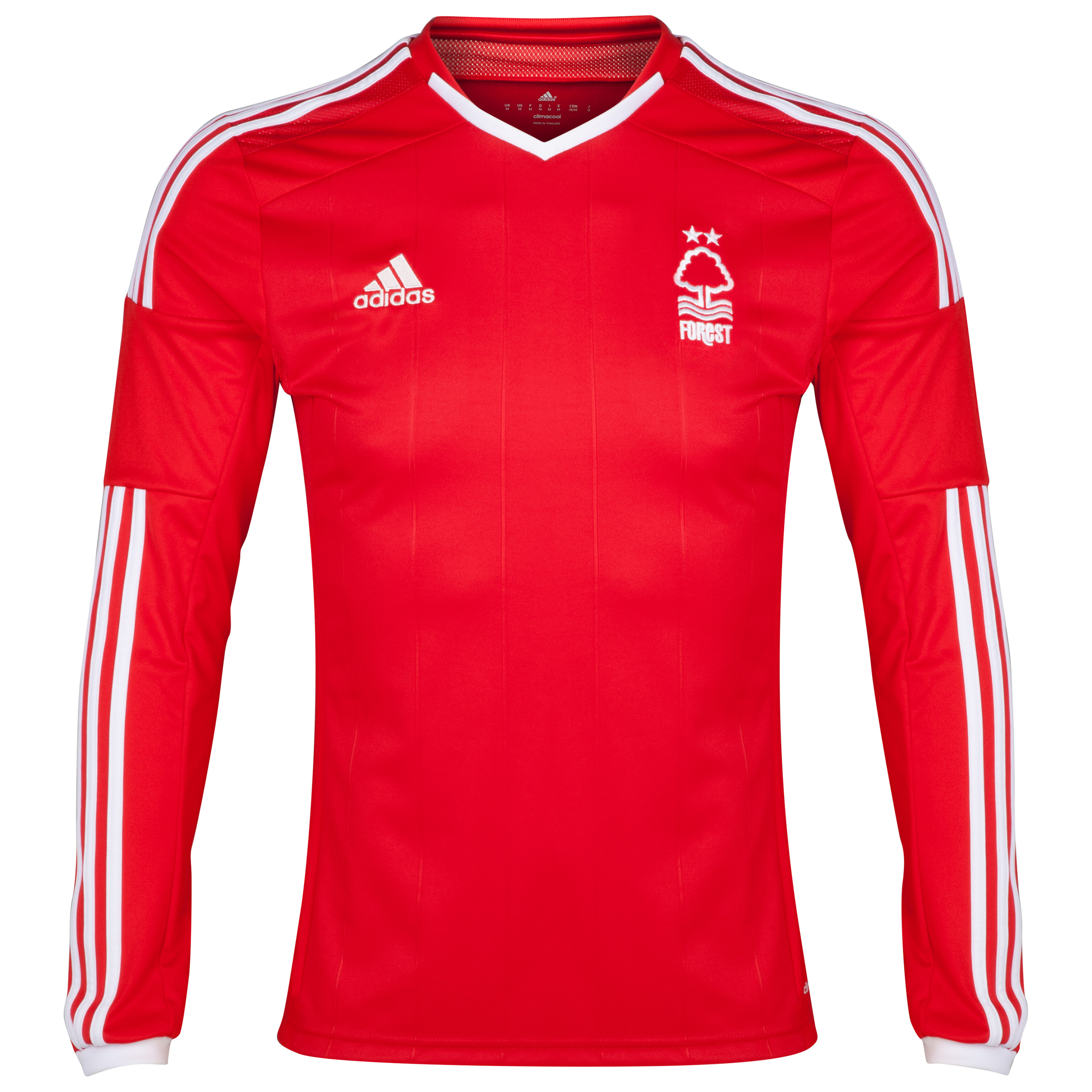 Nottingham Forest Home Shirt 2014/15 - Long Sleeved Red