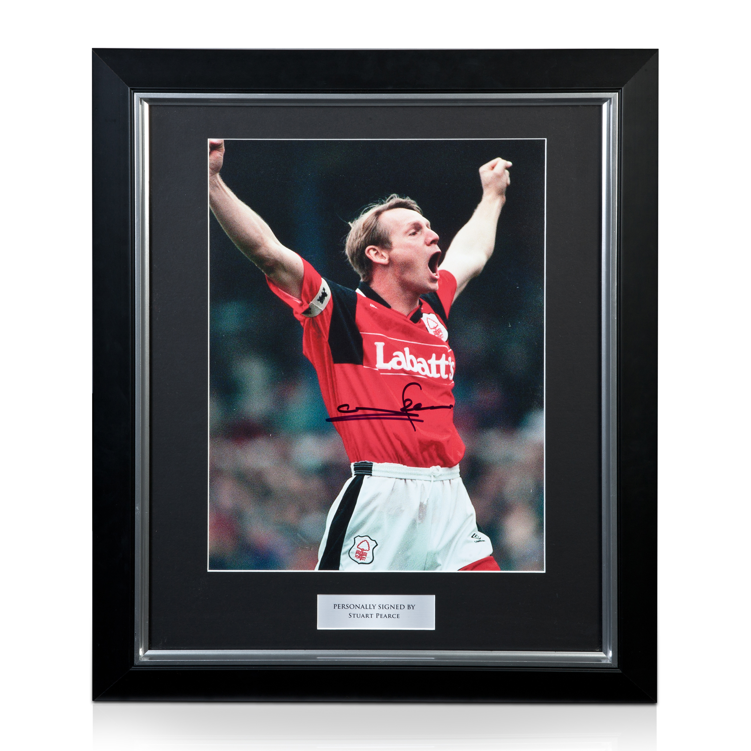Nottingham Forest Stuart Pearce Signed/ Framed Picture