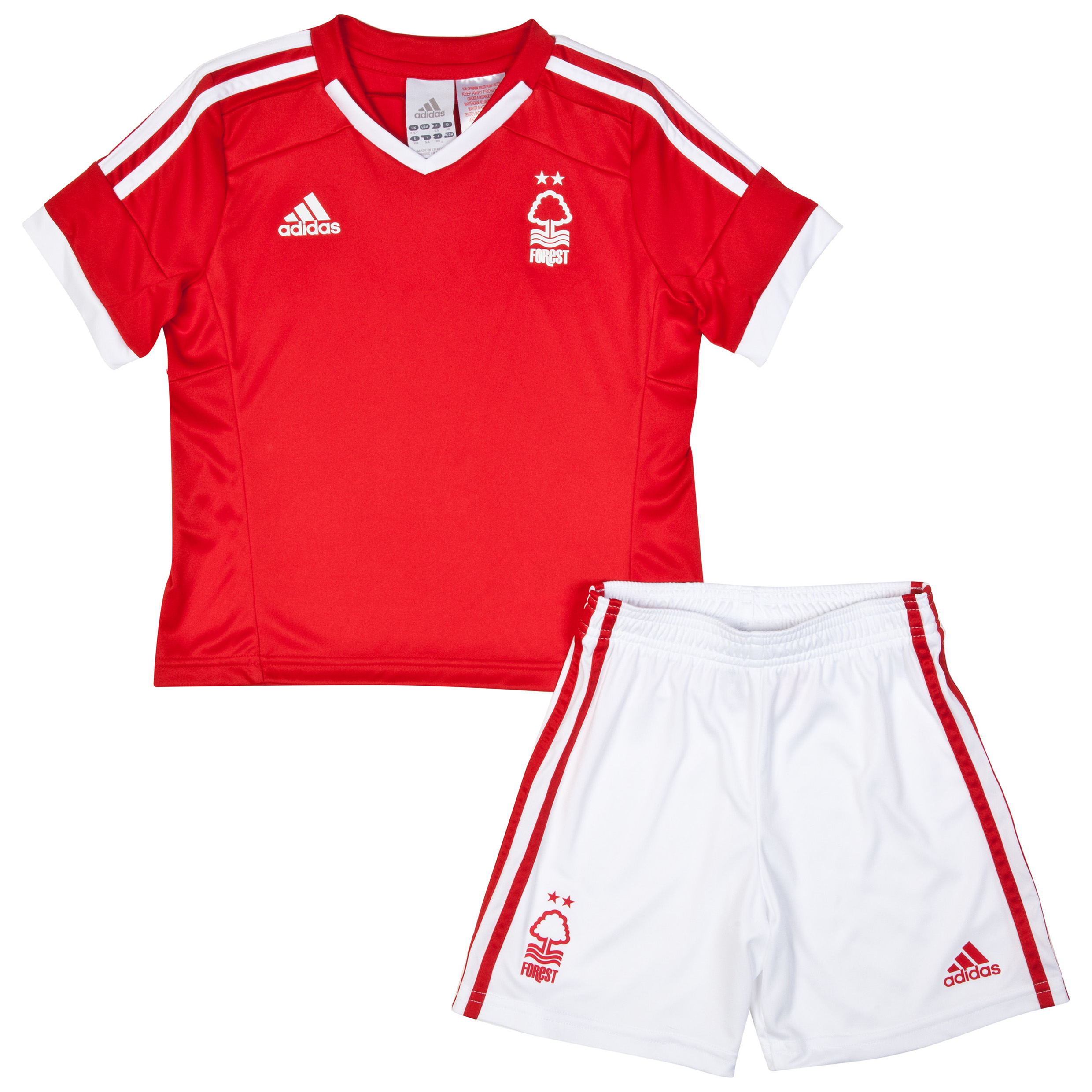 Nottingham Forest Mini Kit 2014/15 Red