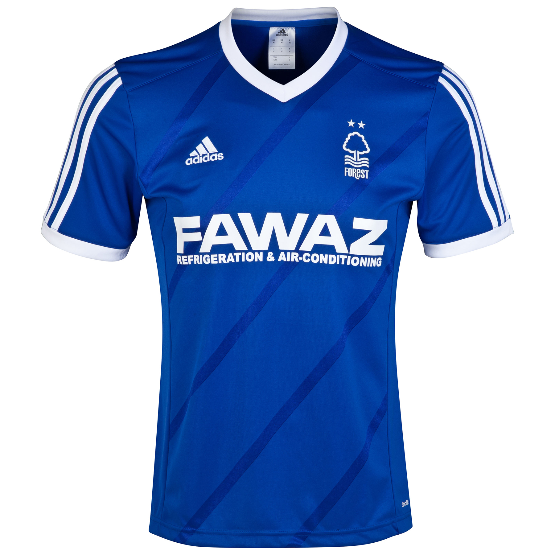 Nottingham Forest Limited Edition 3rd Third Shirt 2014/15 Blue