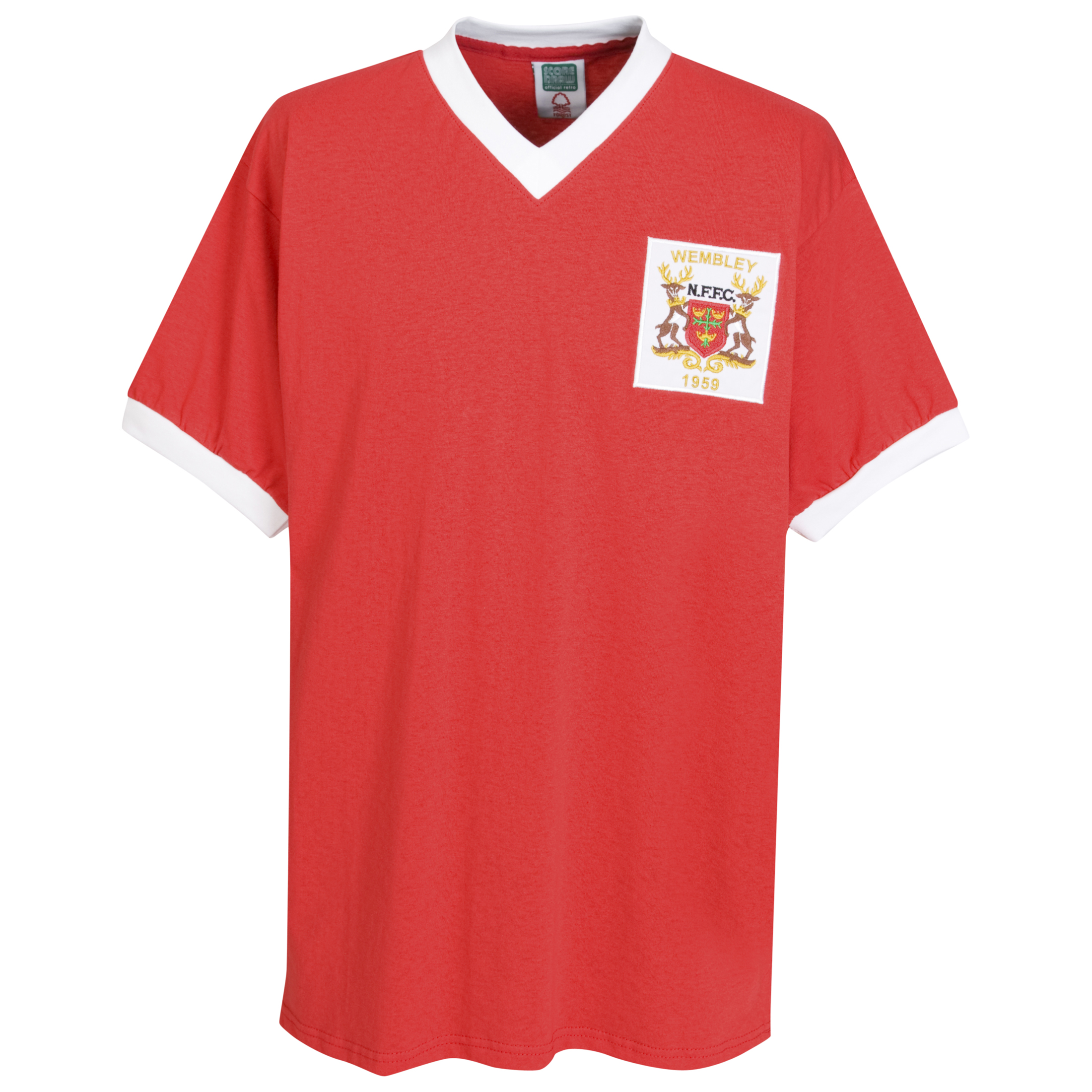 Nottingham Forest 1959 FA Cup Final shirt - Red
